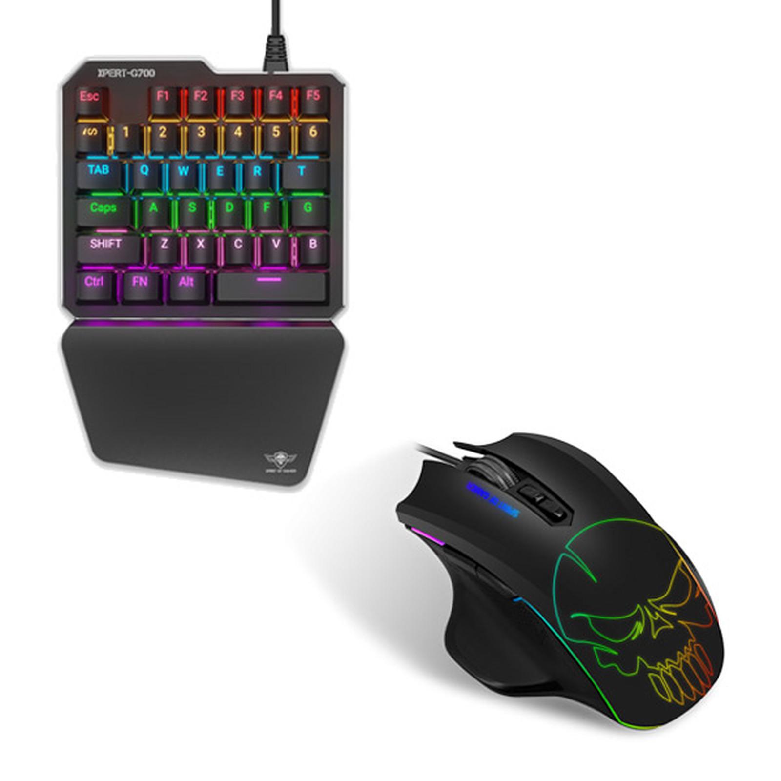 Spirit of gamer Xpert Gameboard-G700 + Xpert Gameboard-M700