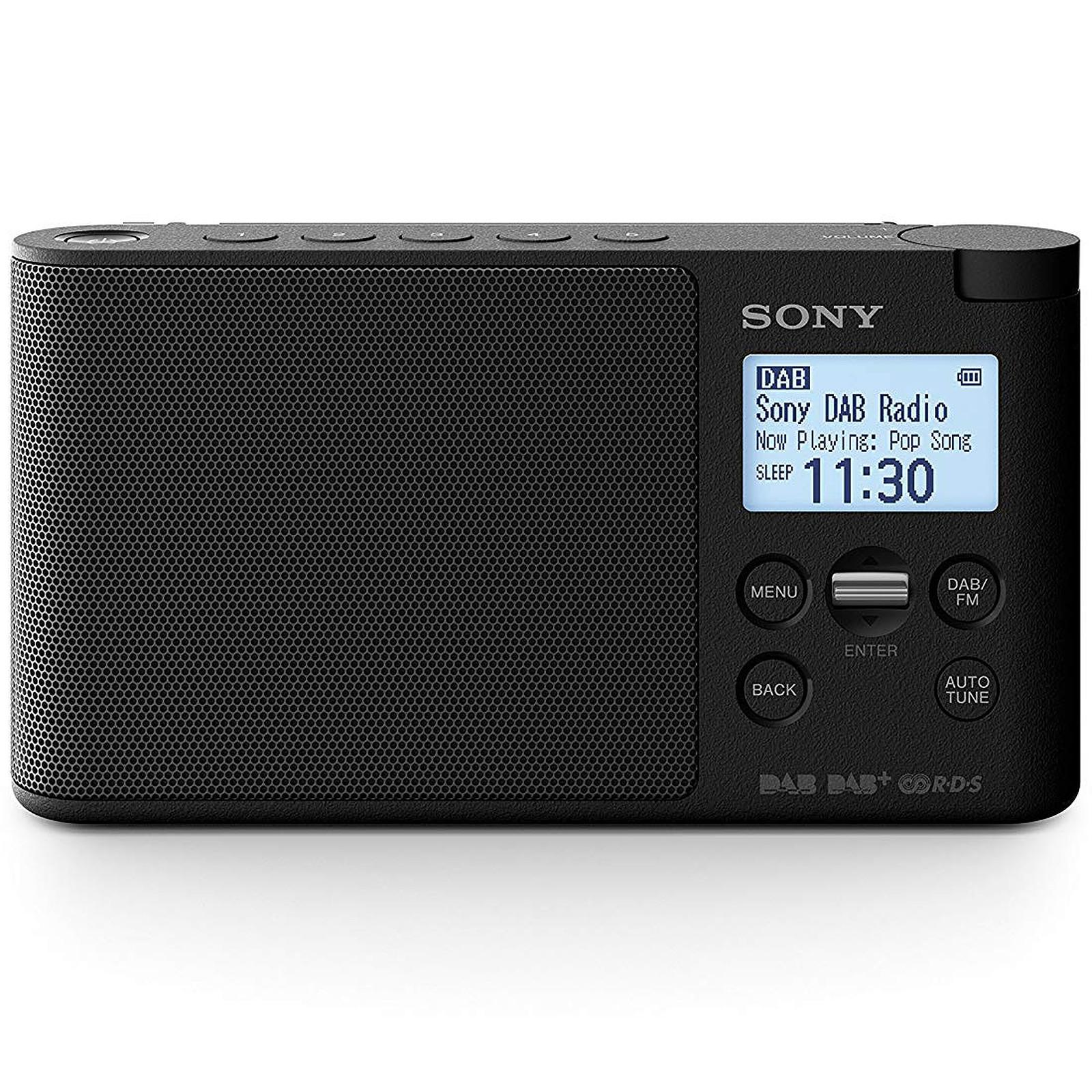 Sony XDR-S41D Noir