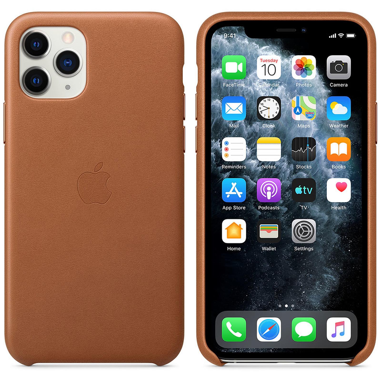 Apple Coque en cuir Havane Apple iPhone 11 Pro
