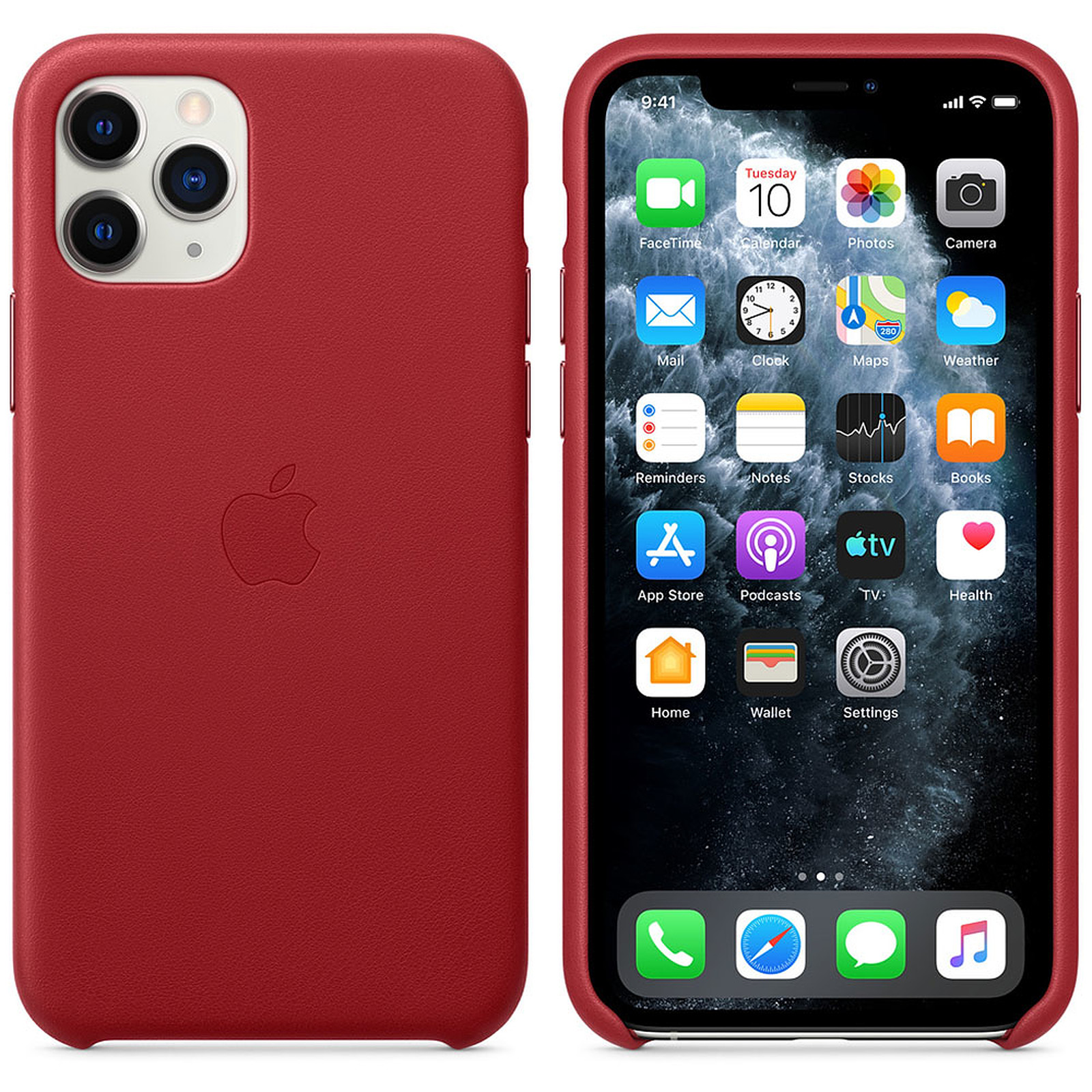 Apple Coque en cuir (PRODUCT)RED Apple iPhone 11 Pro