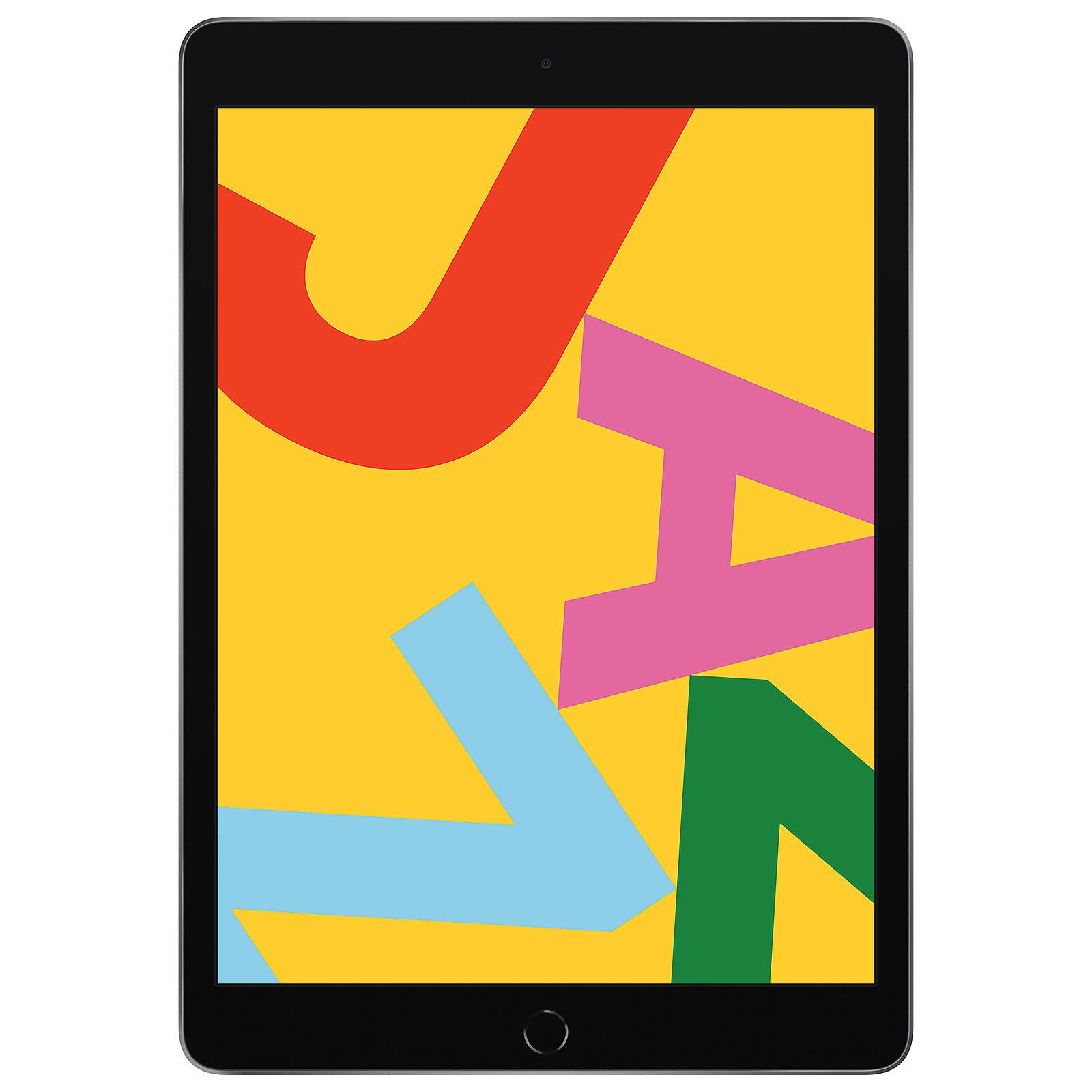 Apple iPad 10.2 pulgadas Wi-Fi 32 GB Side Grey