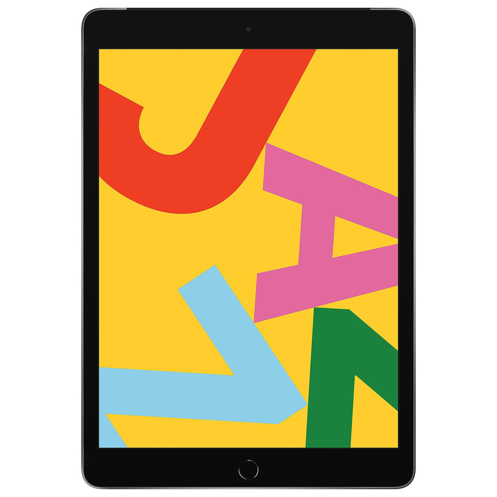 Apple iPad 10.2 pouces Wi-Fi + Cellular 128 GB Gris Sidéral