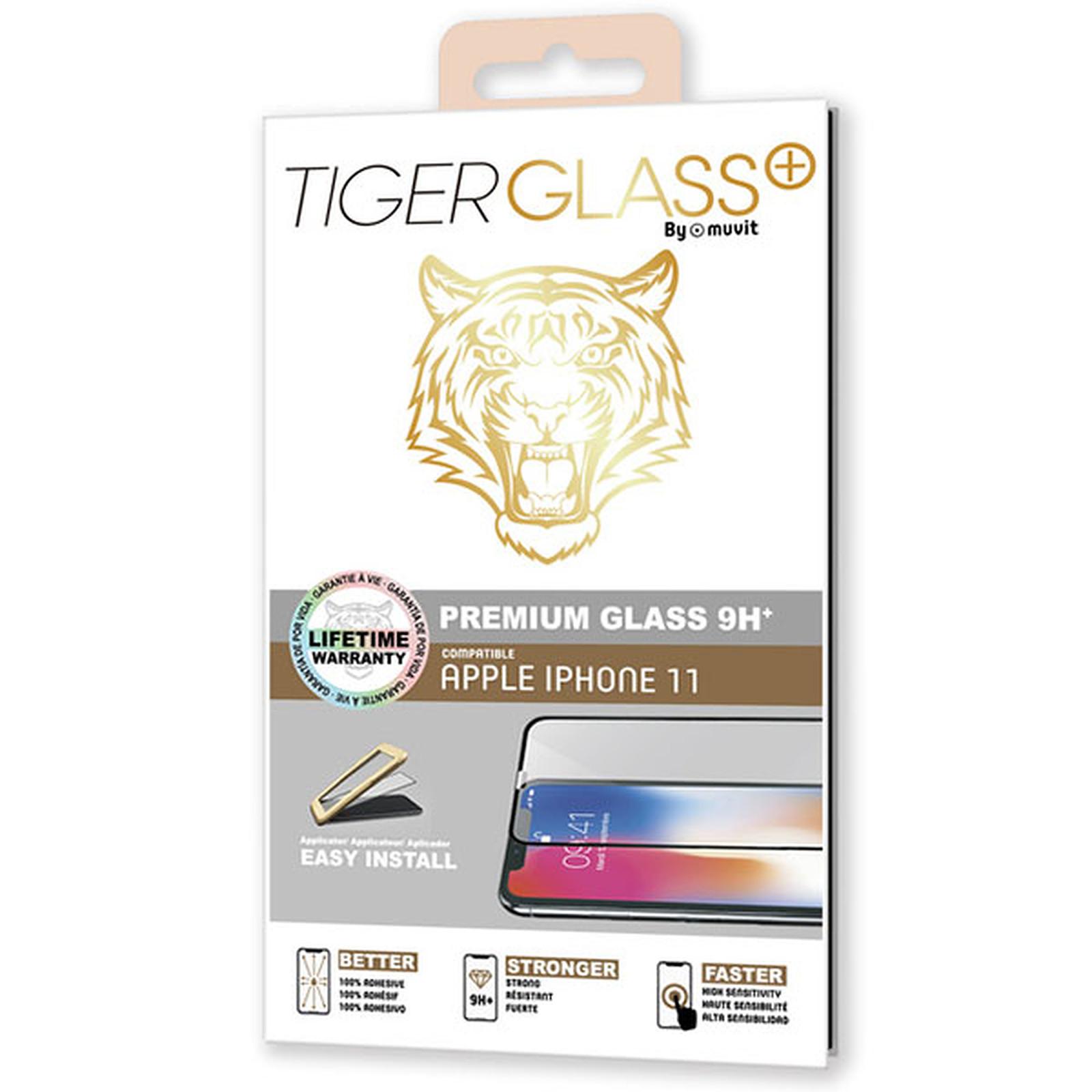 Tiger Glass Plus Verre Trempé 9H+ Apple iPhone 11