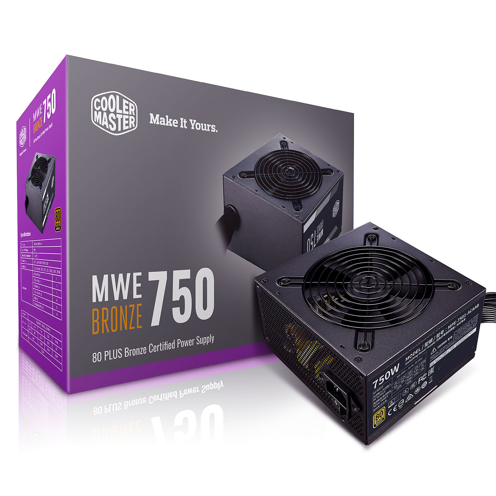 Cooler Master MWE Bronze 750W V2
