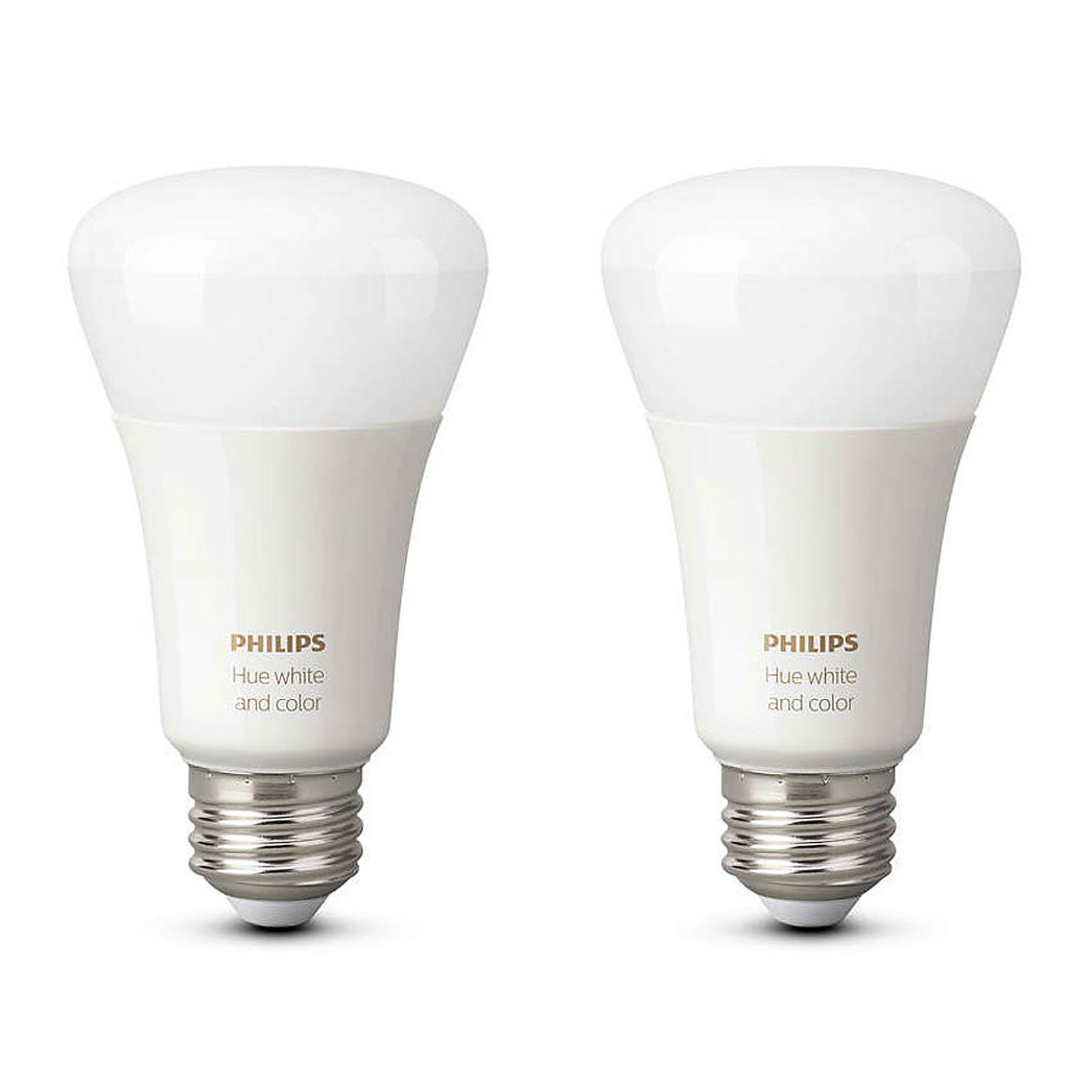 Philips Hue White & Color Ambiance E27 Bluetooth x 2