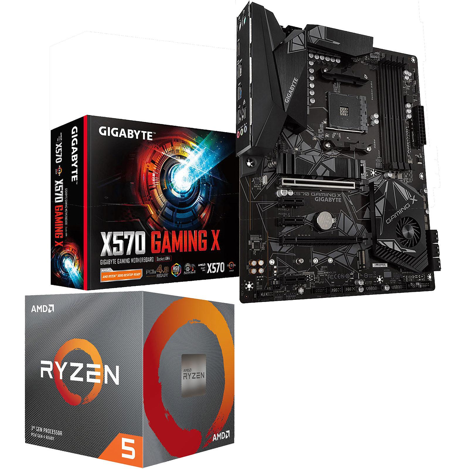 Kit Upgrade PC AMD Ryzen 5 3600 Gigabyte X570 GAMING X