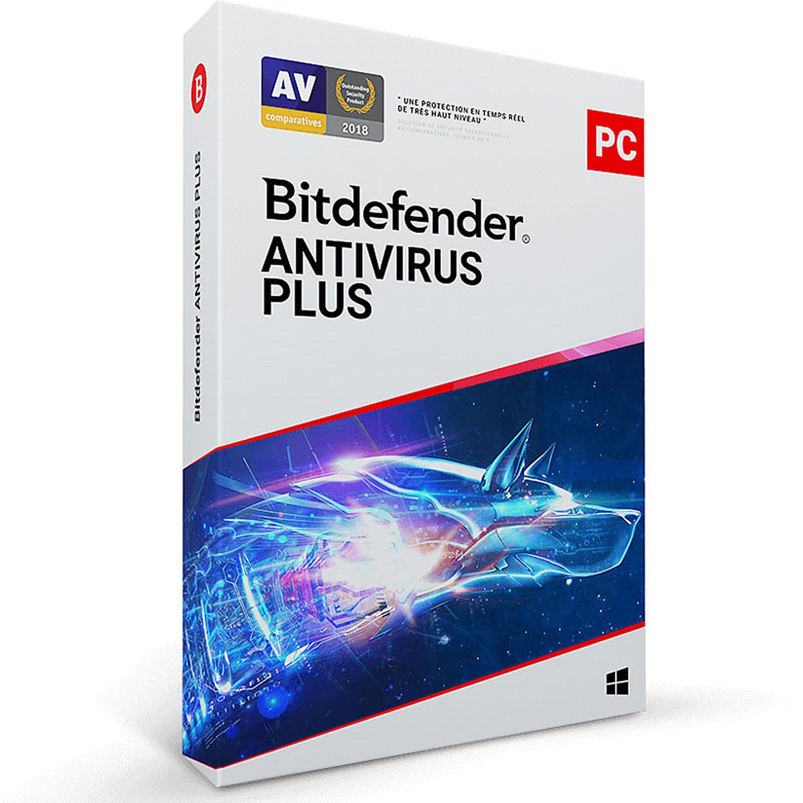 Bitdefender Antivirus Plus 2020 - Licence 3 postes 2 ans