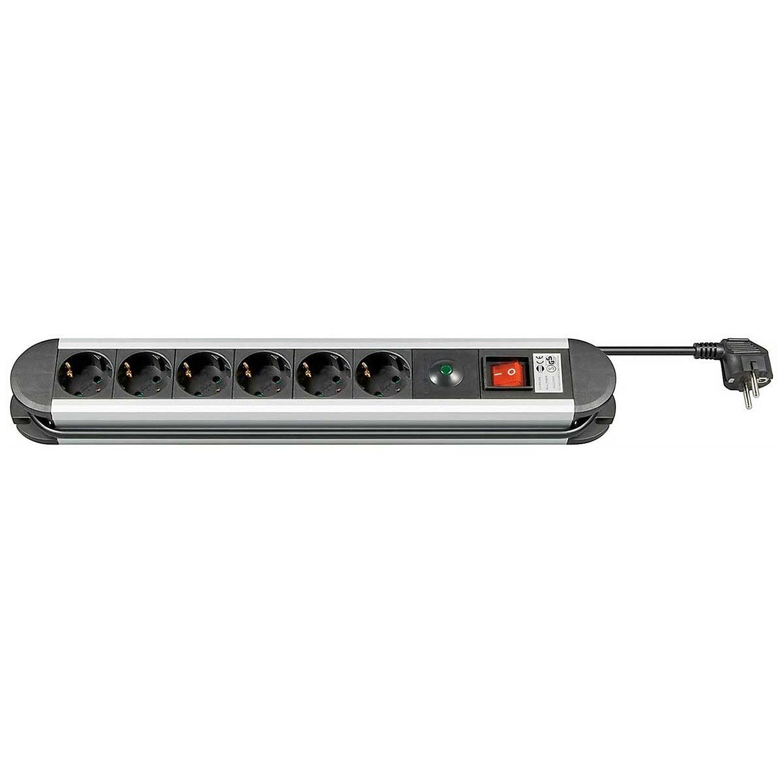 Goobay Multiprise 6 prises type E avec interrupteur