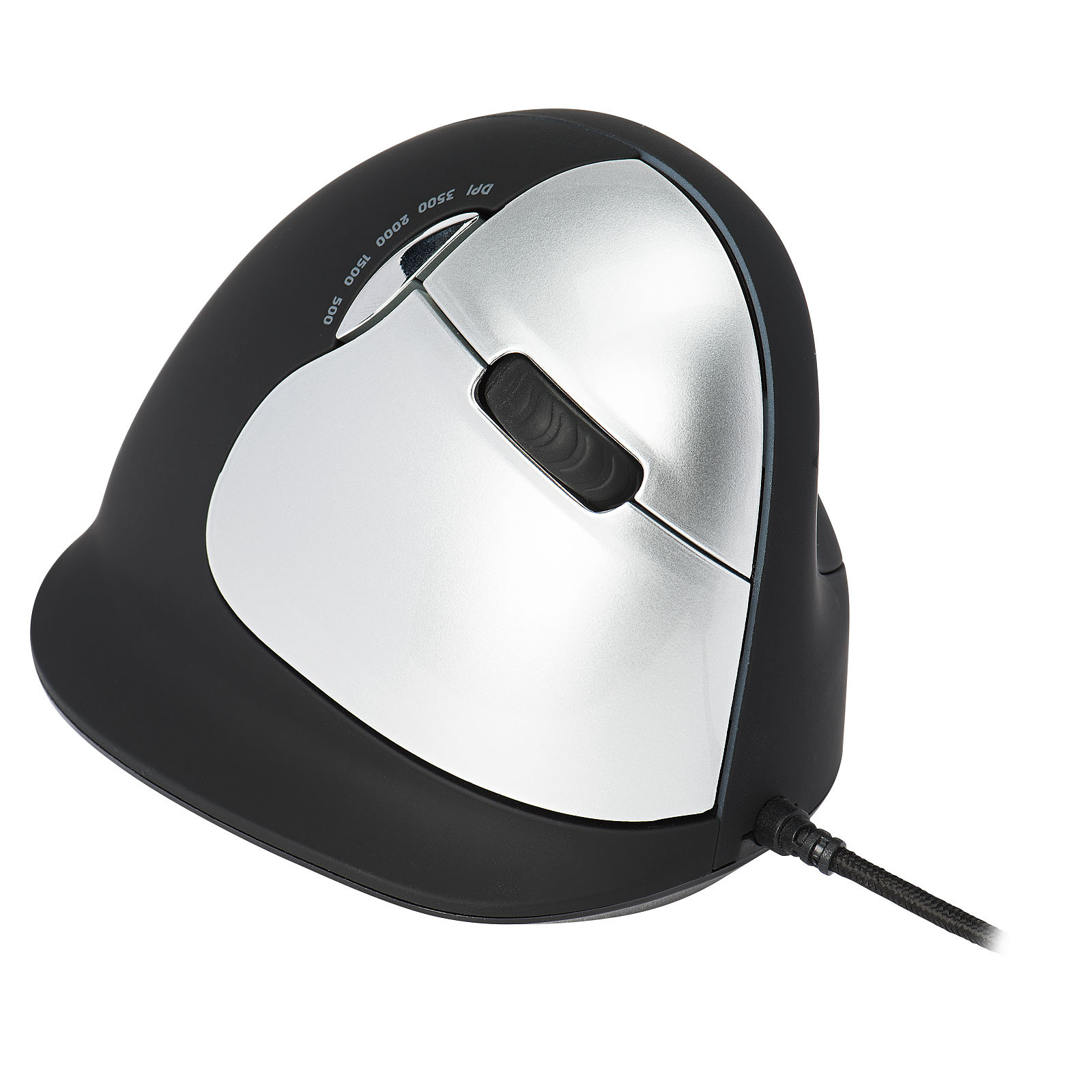 HE Wired Vertical Mouse Large (pour droitier)