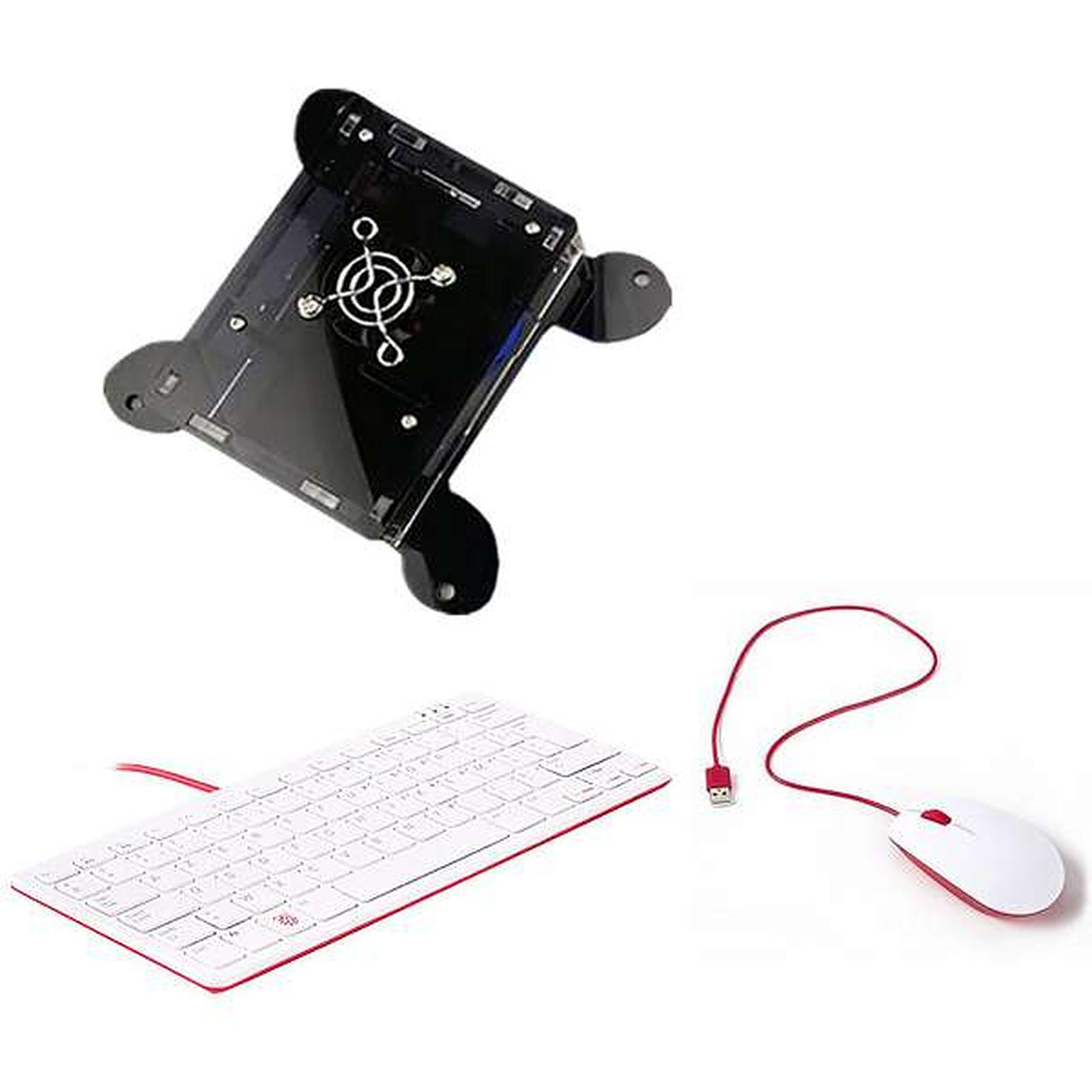 Raspberry Pi 4 Office Kit 4 Go (noir)