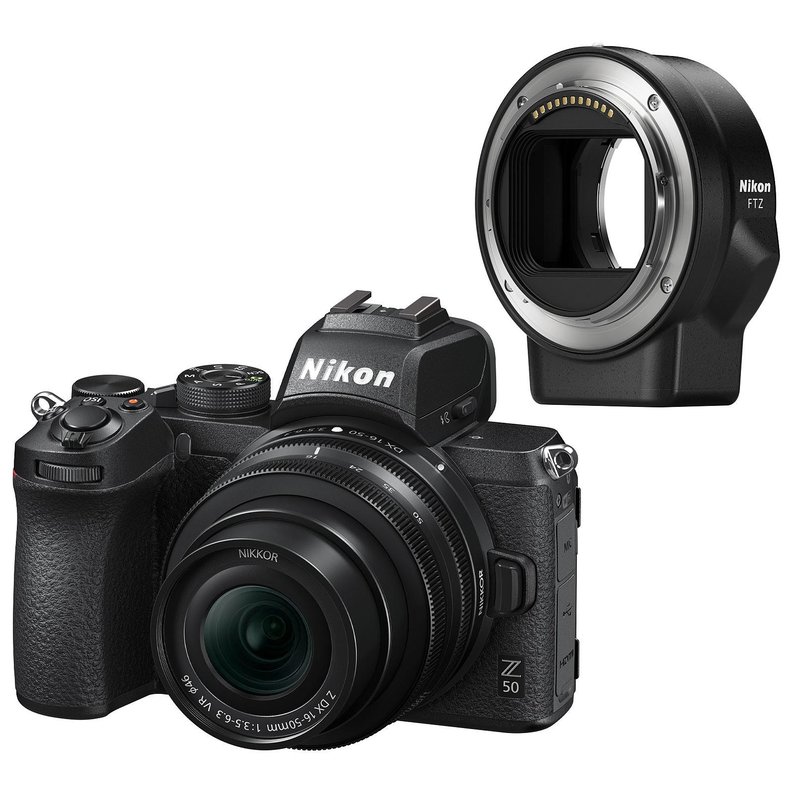 Nikon Z 50 + 16-50 VR + FTZ