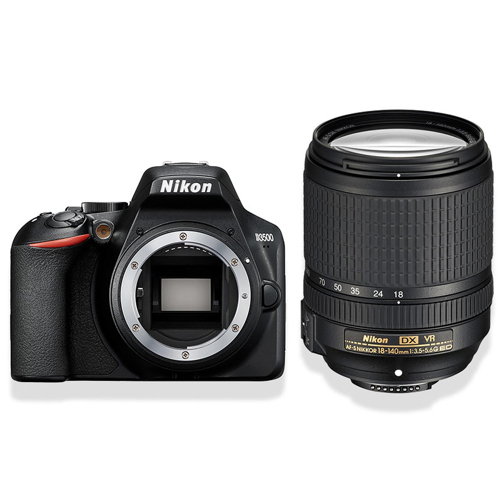 Nikon D3500 + AF-S DX NIKKOR 18-140mm f/3.5-5.6G ED VR