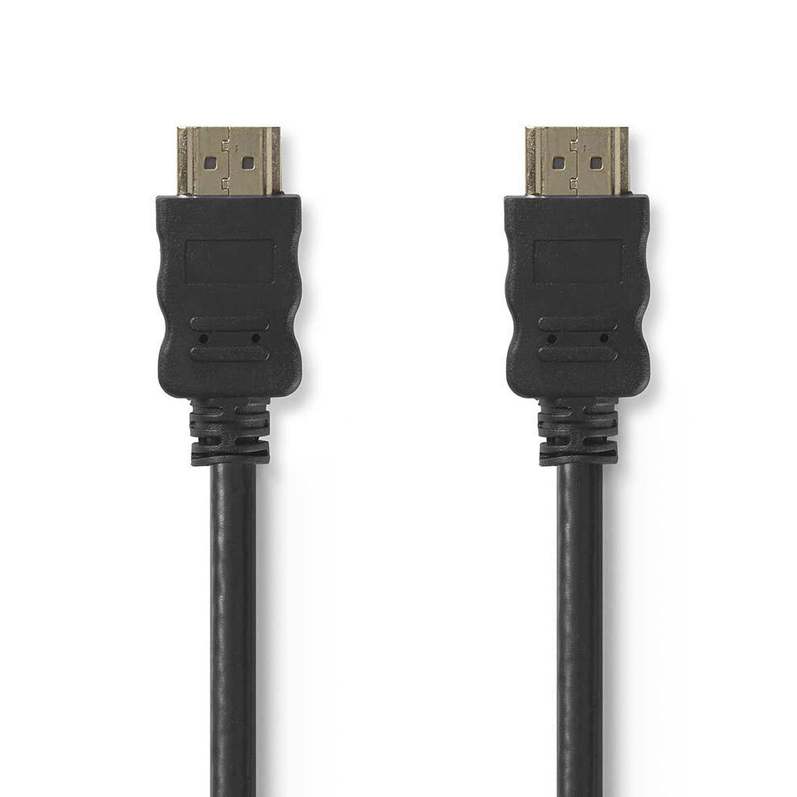 Nedis câble HDMI + Ethernet mâle/mâle (30 m)
