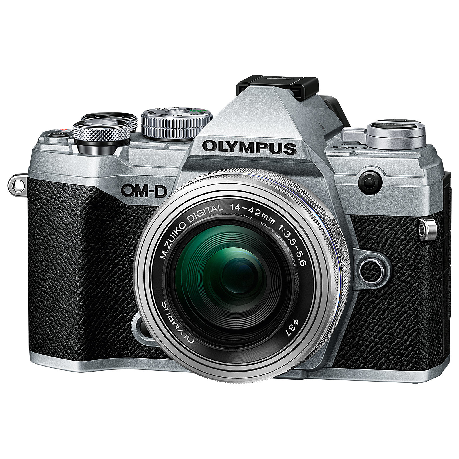 Olympus E-M5 Mark III Argent + 14-42 mm Argent