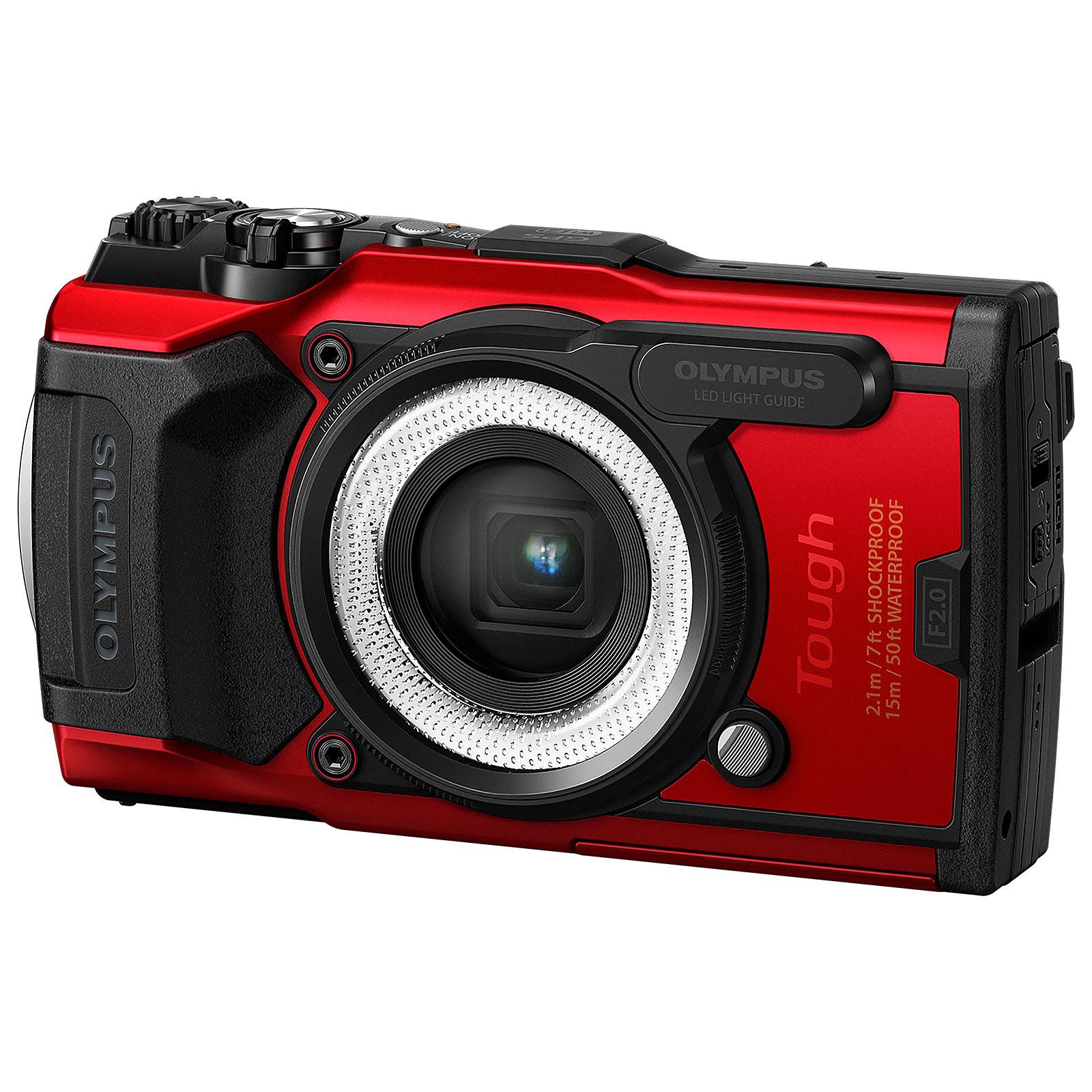 Olympus TG-6 Rouge + LG-1