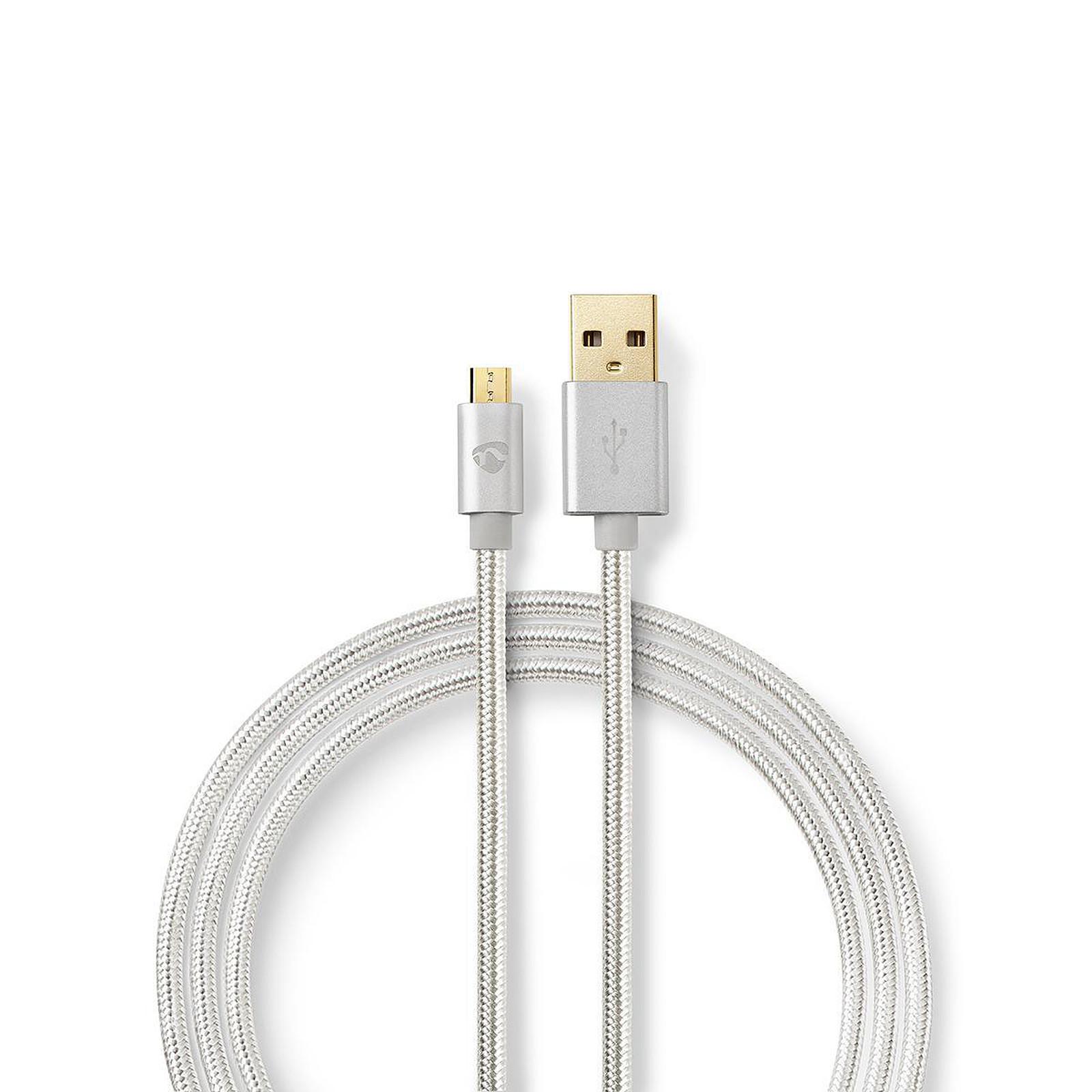 Nedis Câble USB-A vers micro-USB-B - 3 m