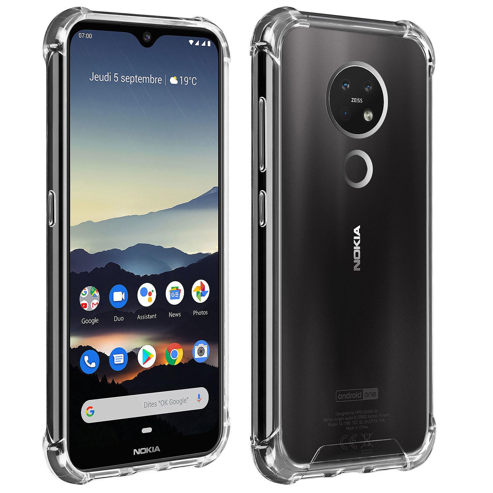 Akashi Coque TPU Angles Renforcés Nokia 6.2 / 7.2