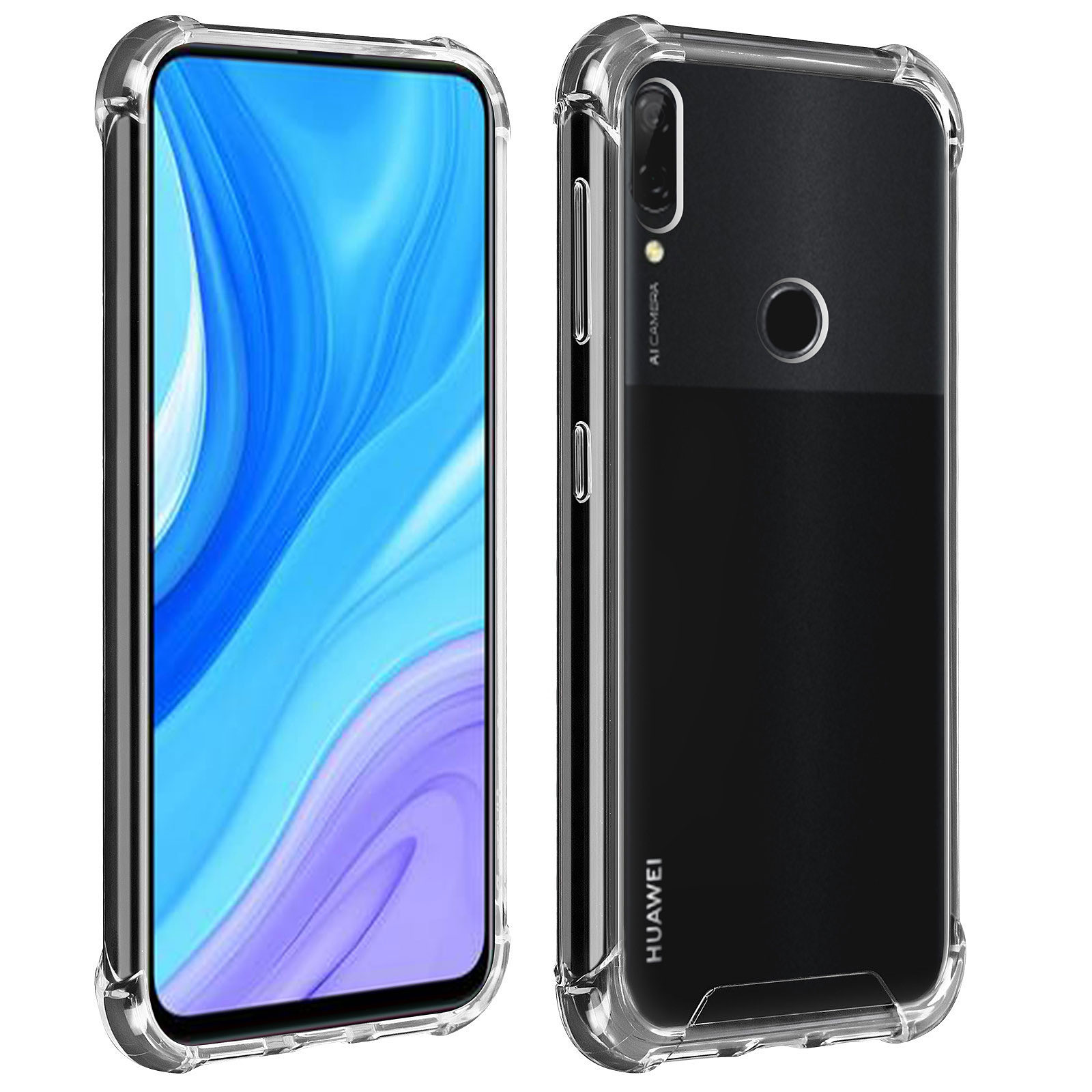 Akashi Coque TPU Angles Renforcés Huawei P Smart Z