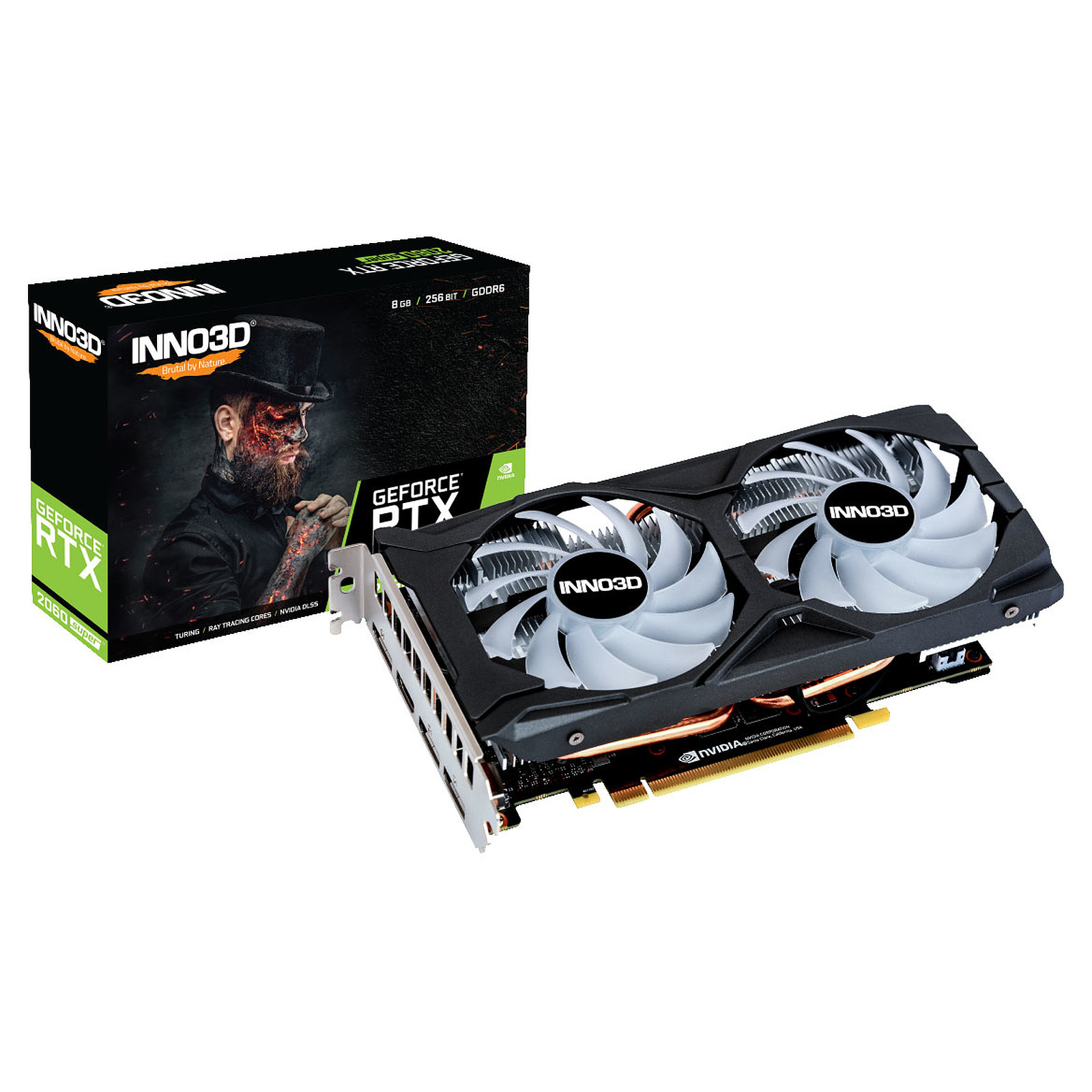 INNO3D GeForce RTX 2060 SUPER TWIN X2 OC RGB