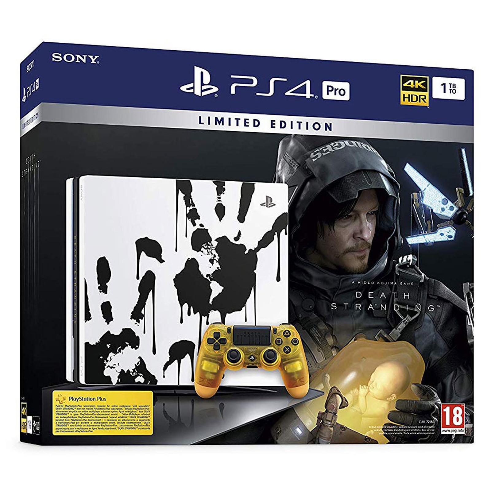 Sony PlayStation 4 Pro (1TB) - Death Stranding Limited Edition