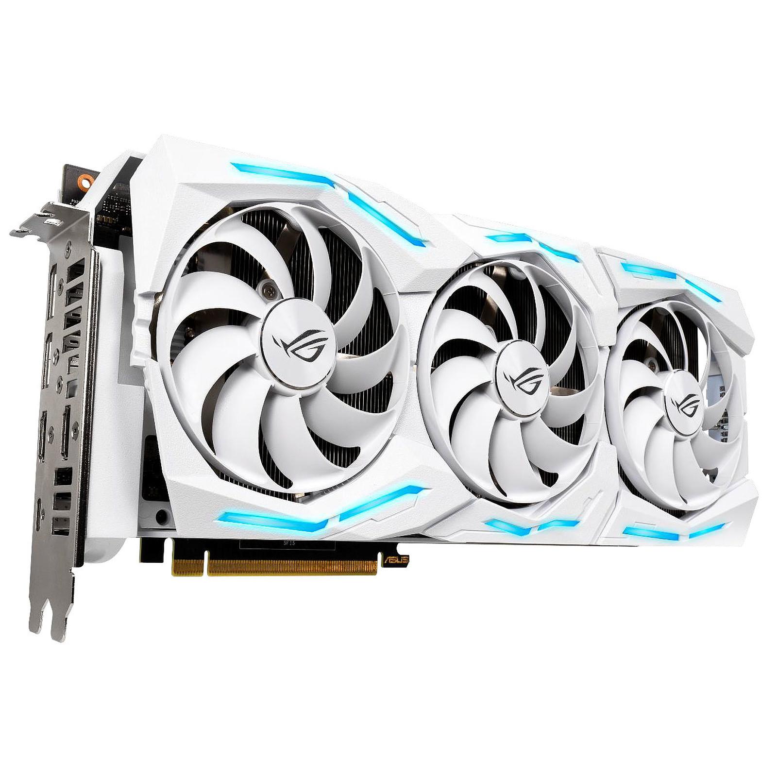 ASUS GeForce RTX 2080 Ti ROG-STRIX-RTX2080TI-O11G-WHITE-GAMING - Edition Spéciale