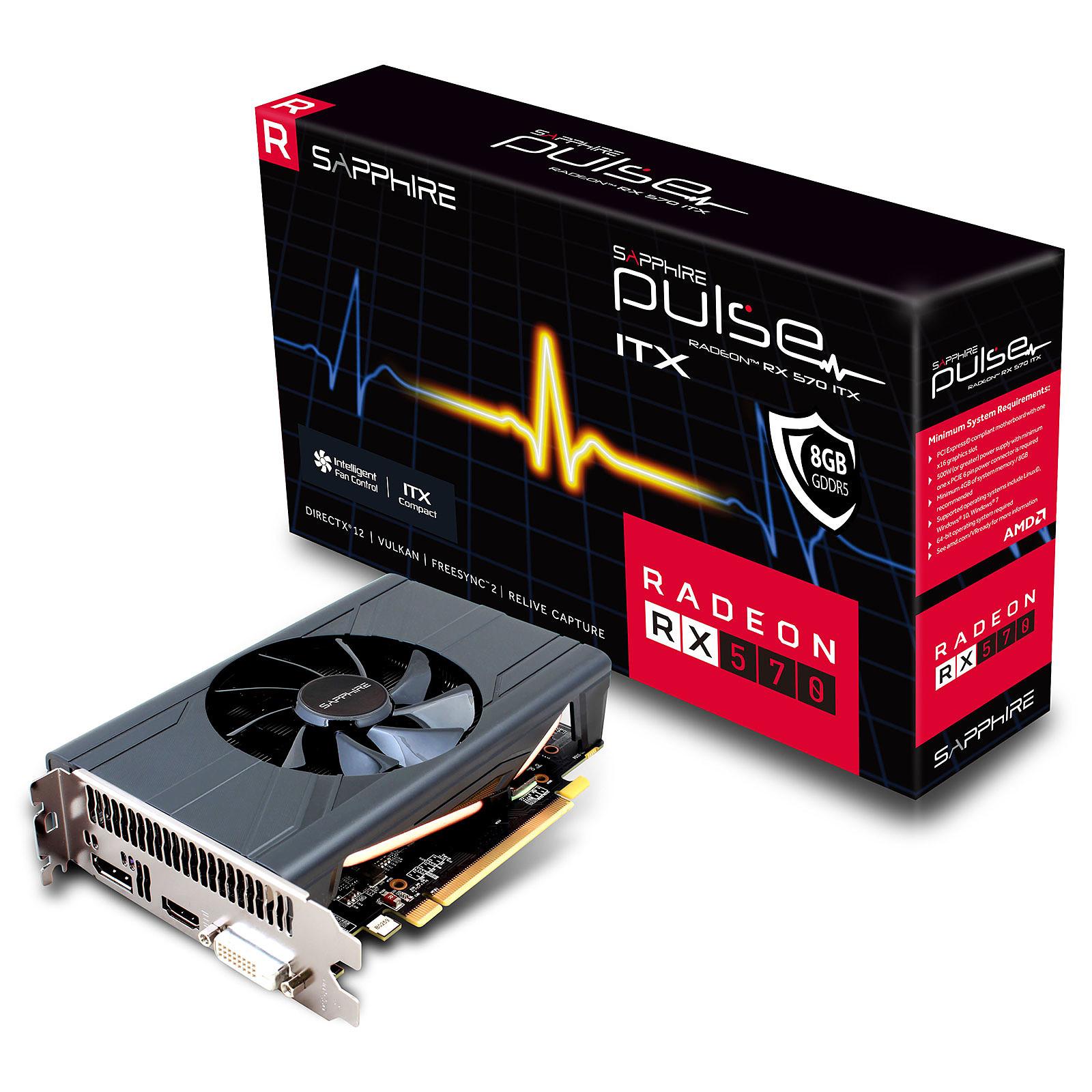 Sapphire PULSE Radeon RX 570 ITX 8G G5