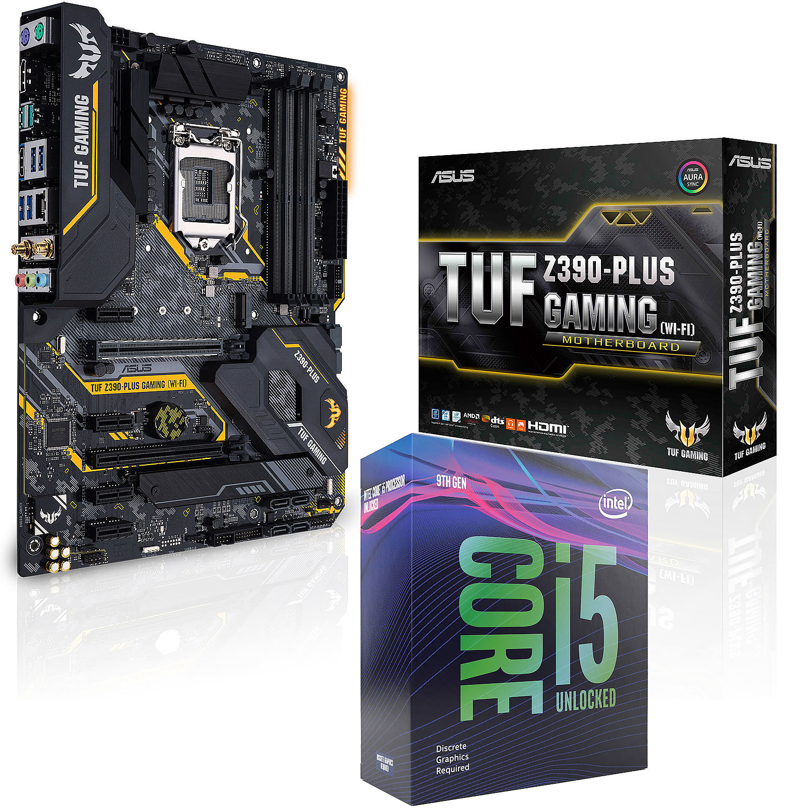 Kit Upgrade PC Core i5KF ASUS TUF Z390-PLUS GAMING (WI-FI)