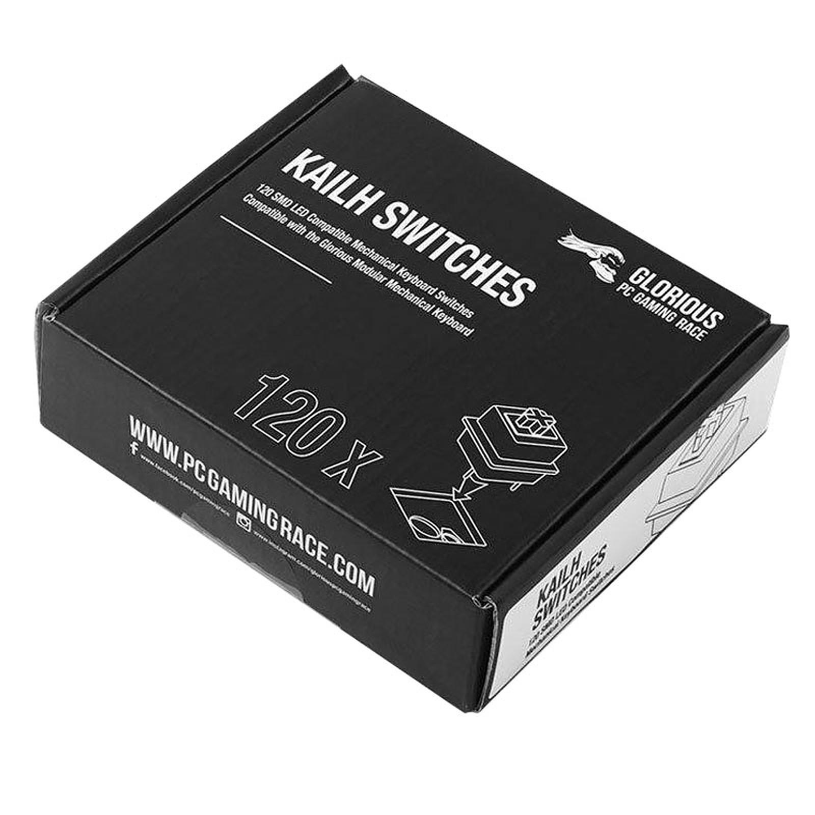 Glorious Kailh Switches x120 (Blanc)