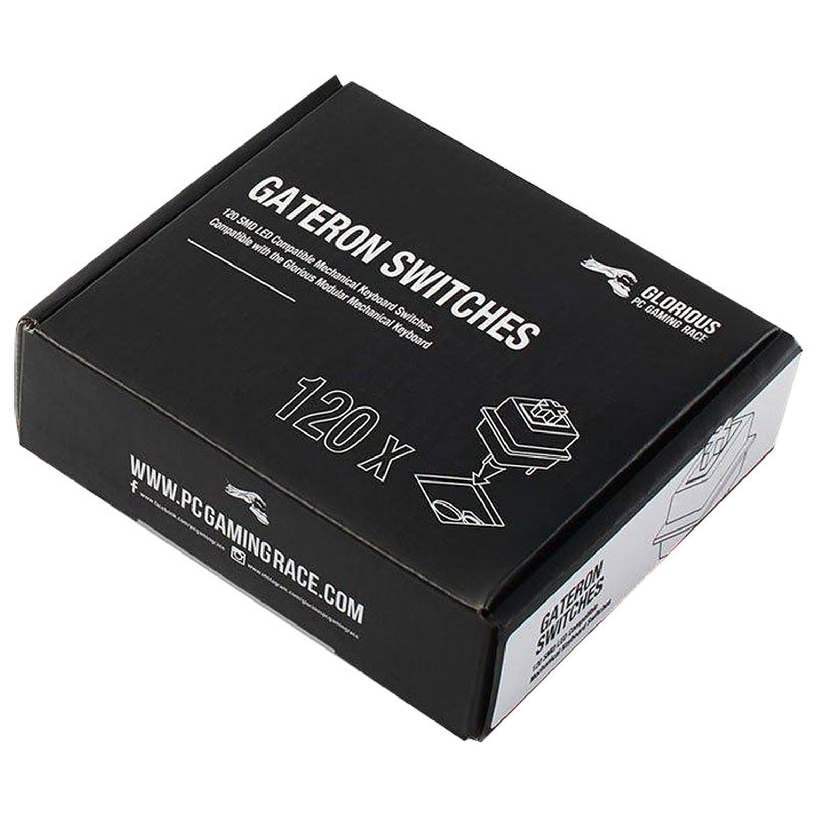 Glorious Gateron Switches x120 (Transparent)
