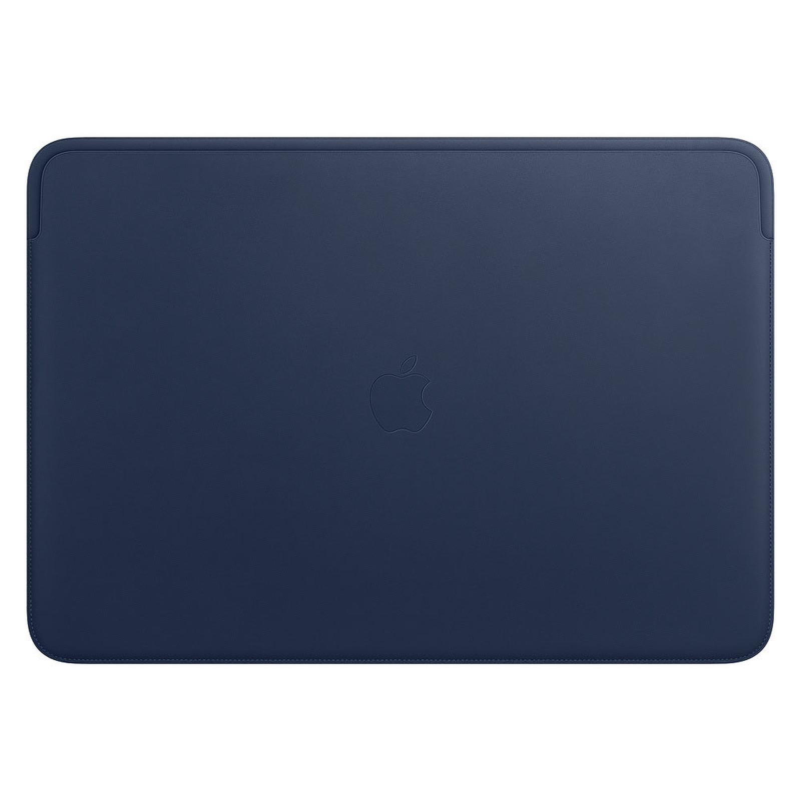 """Apple Housse Cuir MacBook Pro 16"""" Bleu nuit"""