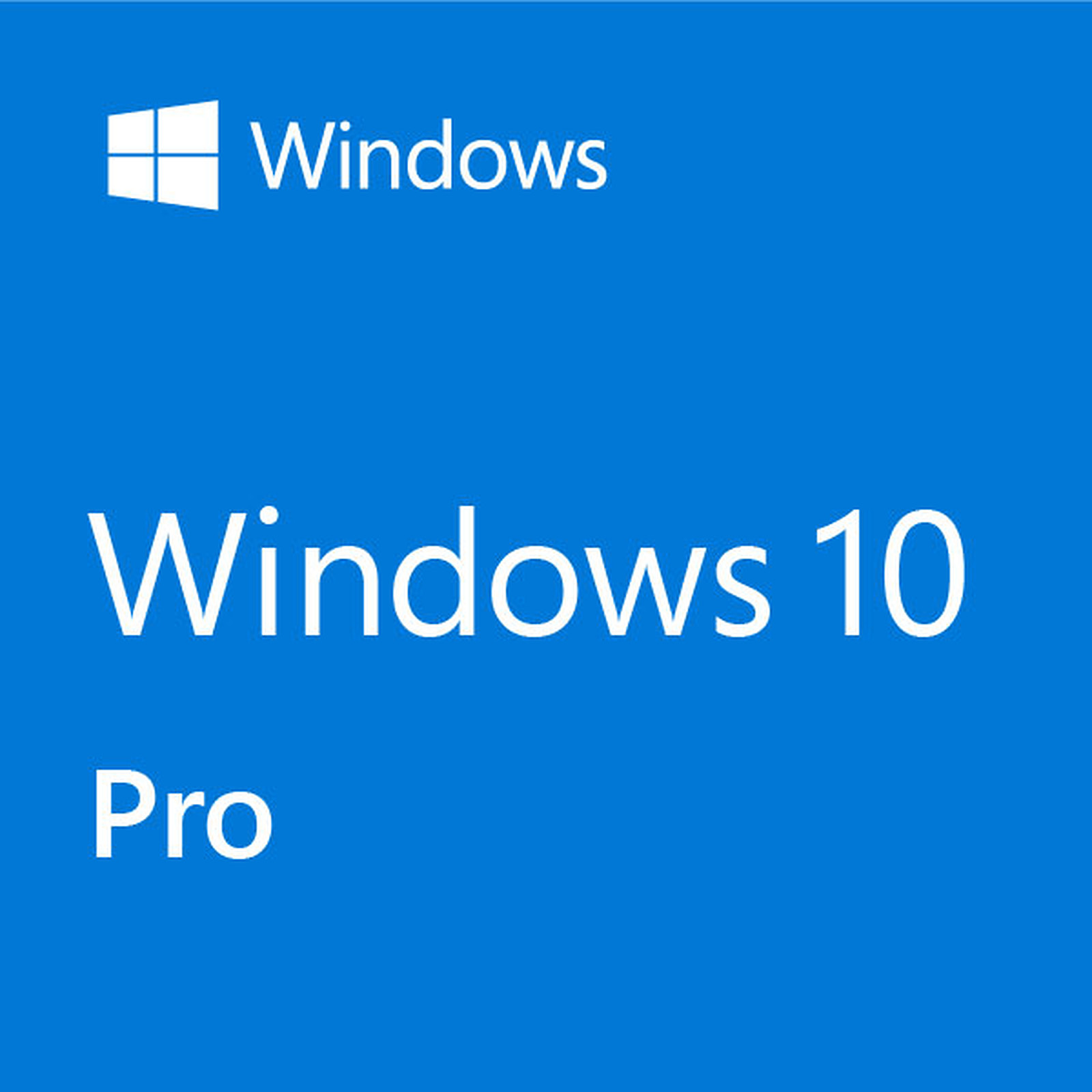 Microsoft Windows 10 Professionnel 32/64 bits - Version clé USB