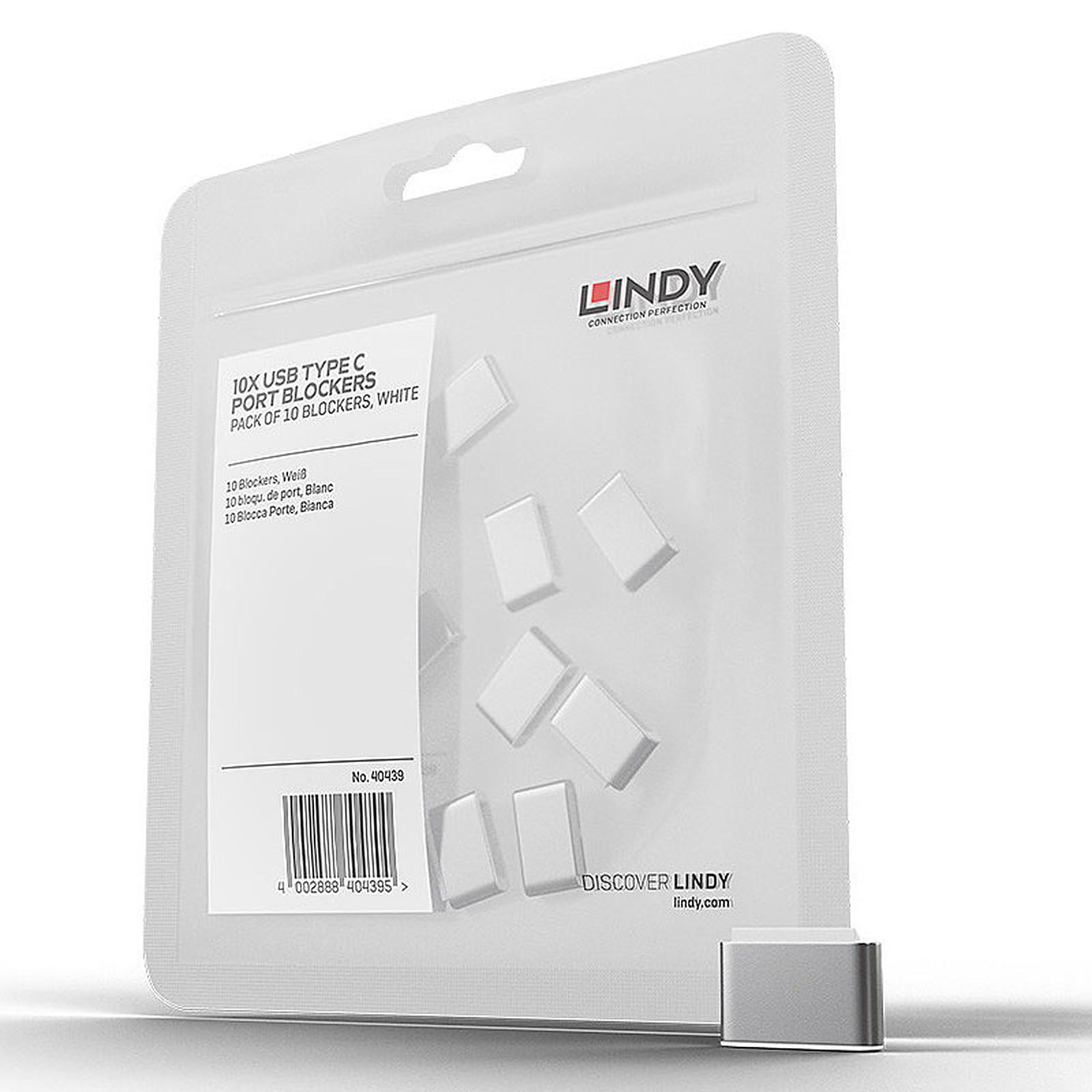 Lindy 10 verrous pour ports USB-C