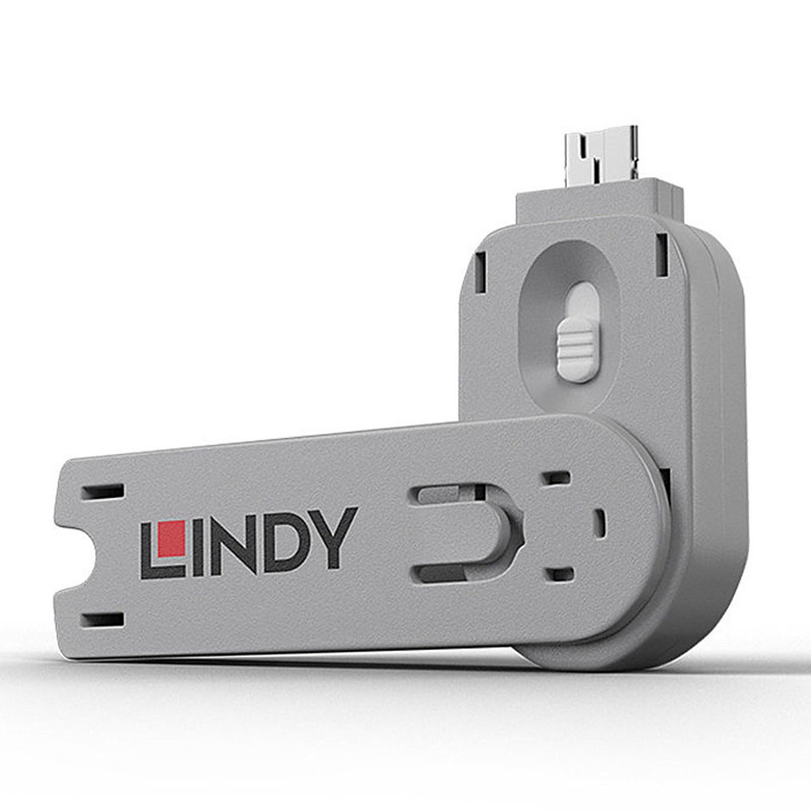 Lindy Clé pour verrous USB-A