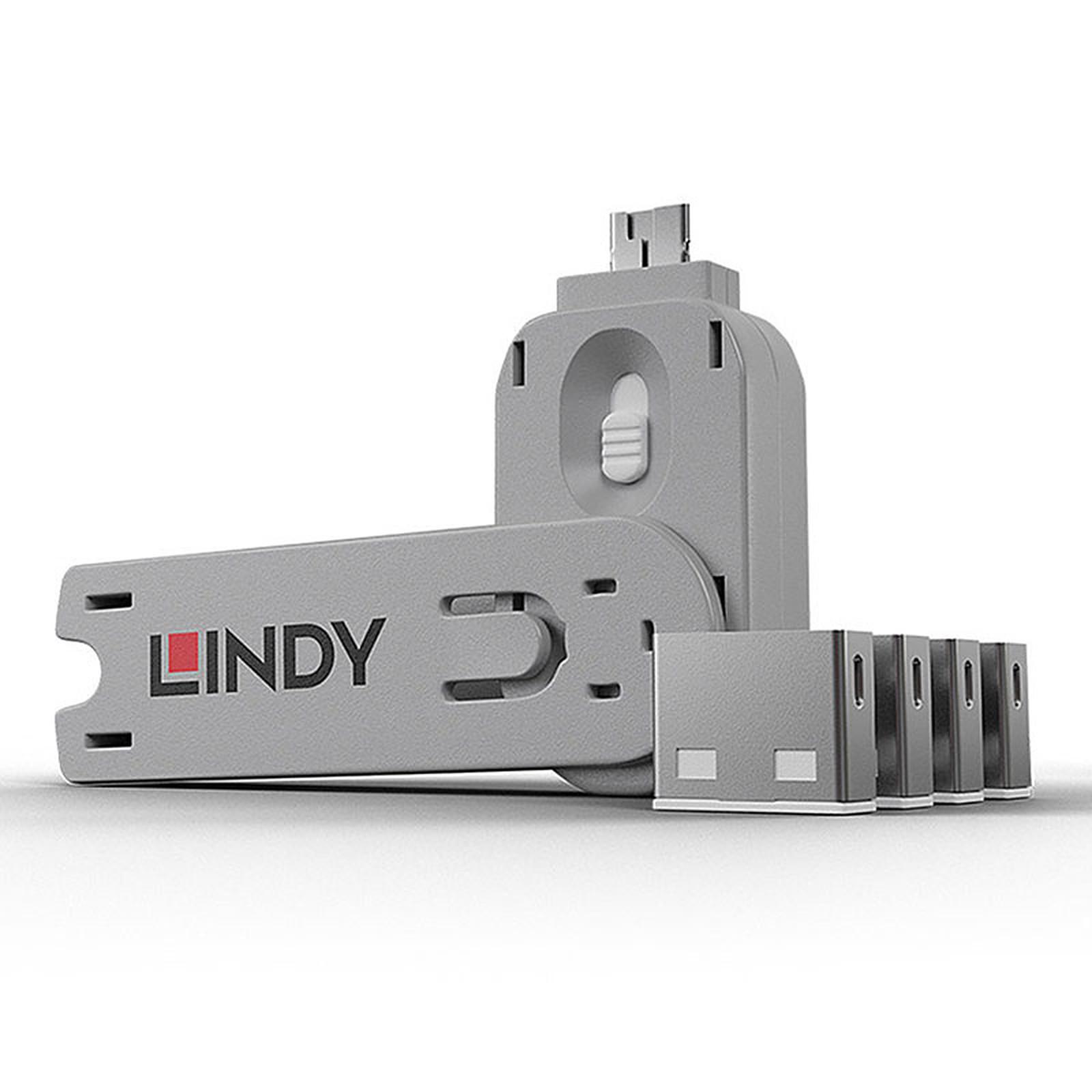 Lindy Kit de blocage pour ports USB-A