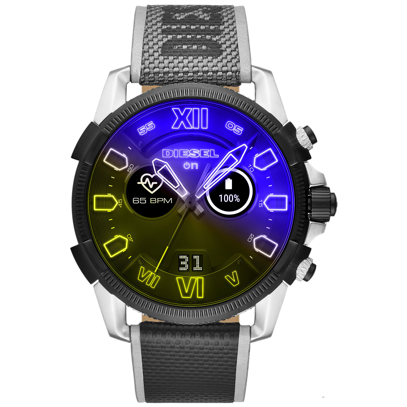 Diesel On Full Guard 2.5 Gen.4 (48 mm / Nylon / Gris)