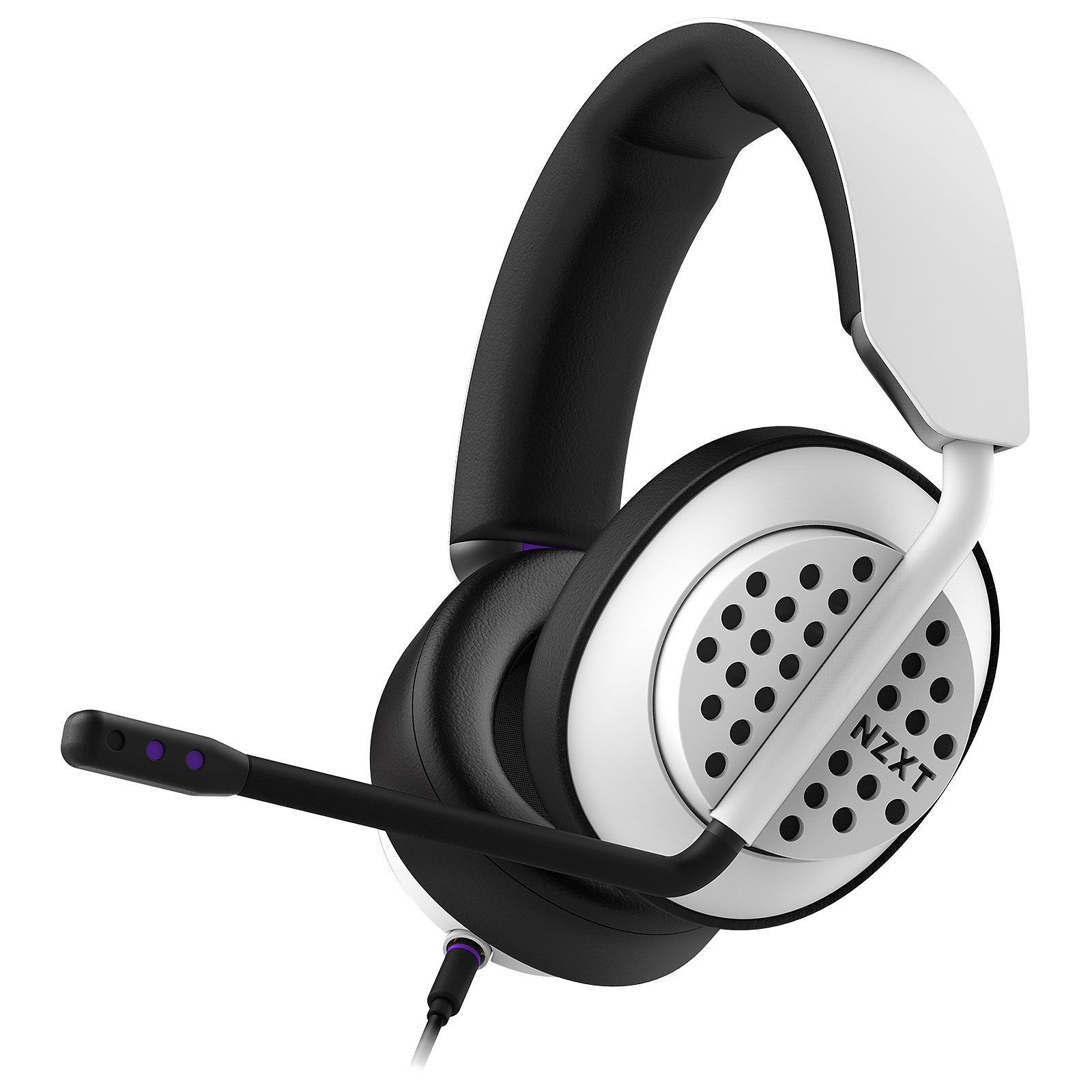 NZXT AER Open Headset Blanc