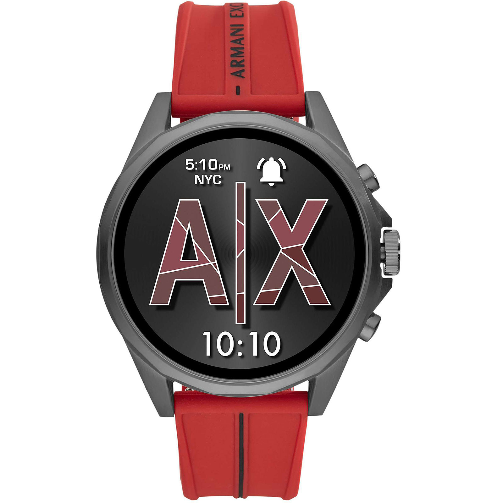 Armani Exchange Connected Gen.4 (46 mm / Silicone / Rouge)