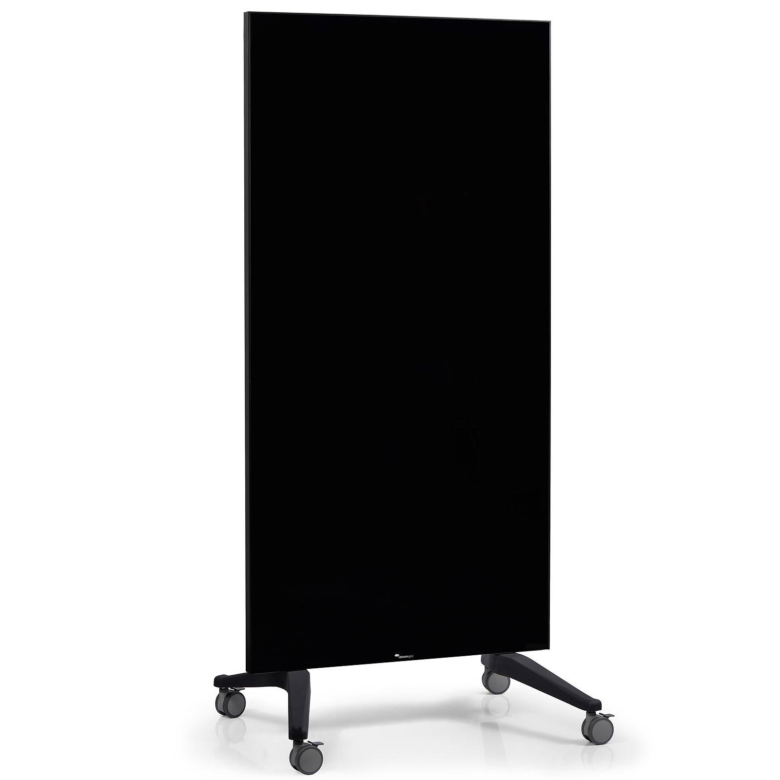 Legamaster Tableau Verre Mobile 90x175cm Noir