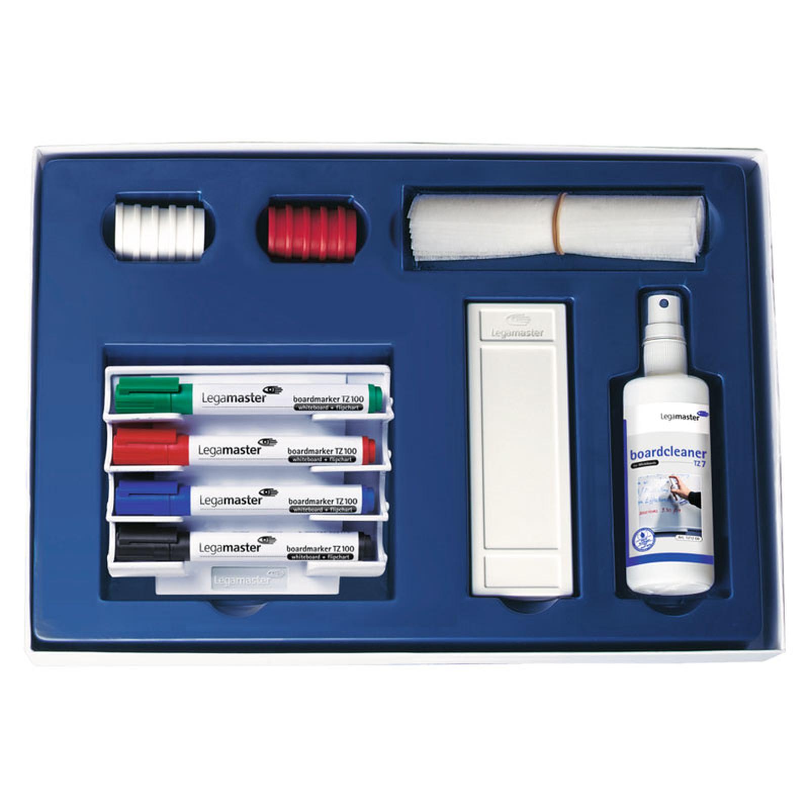 Legamaster Jeu d'accessoires de base pour tableau blanc magnétique