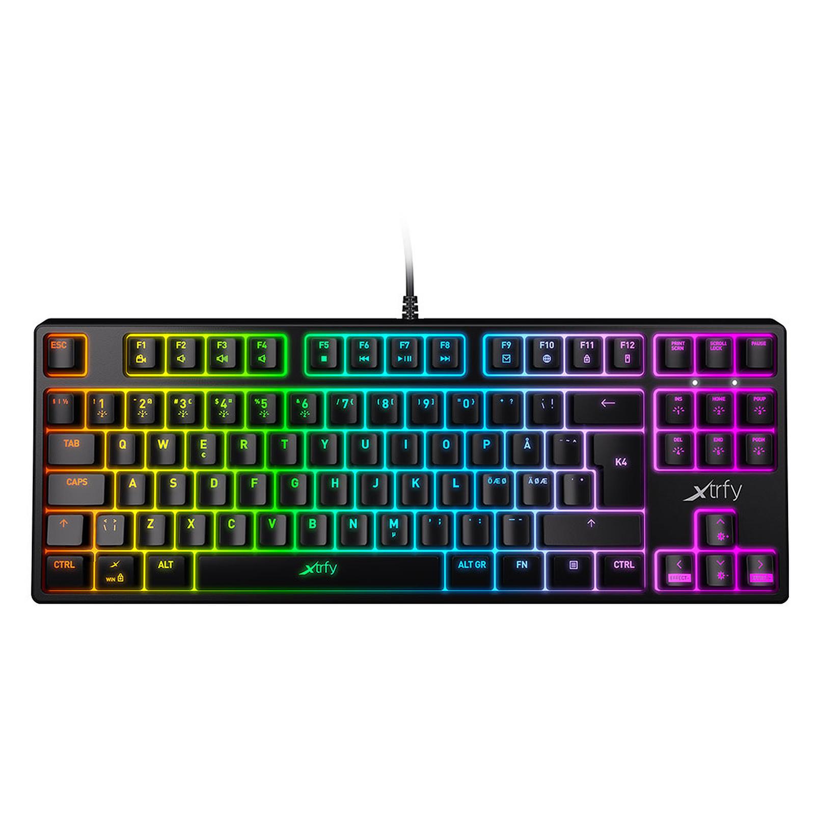 Xtrfy K4 TKL RGB Noir