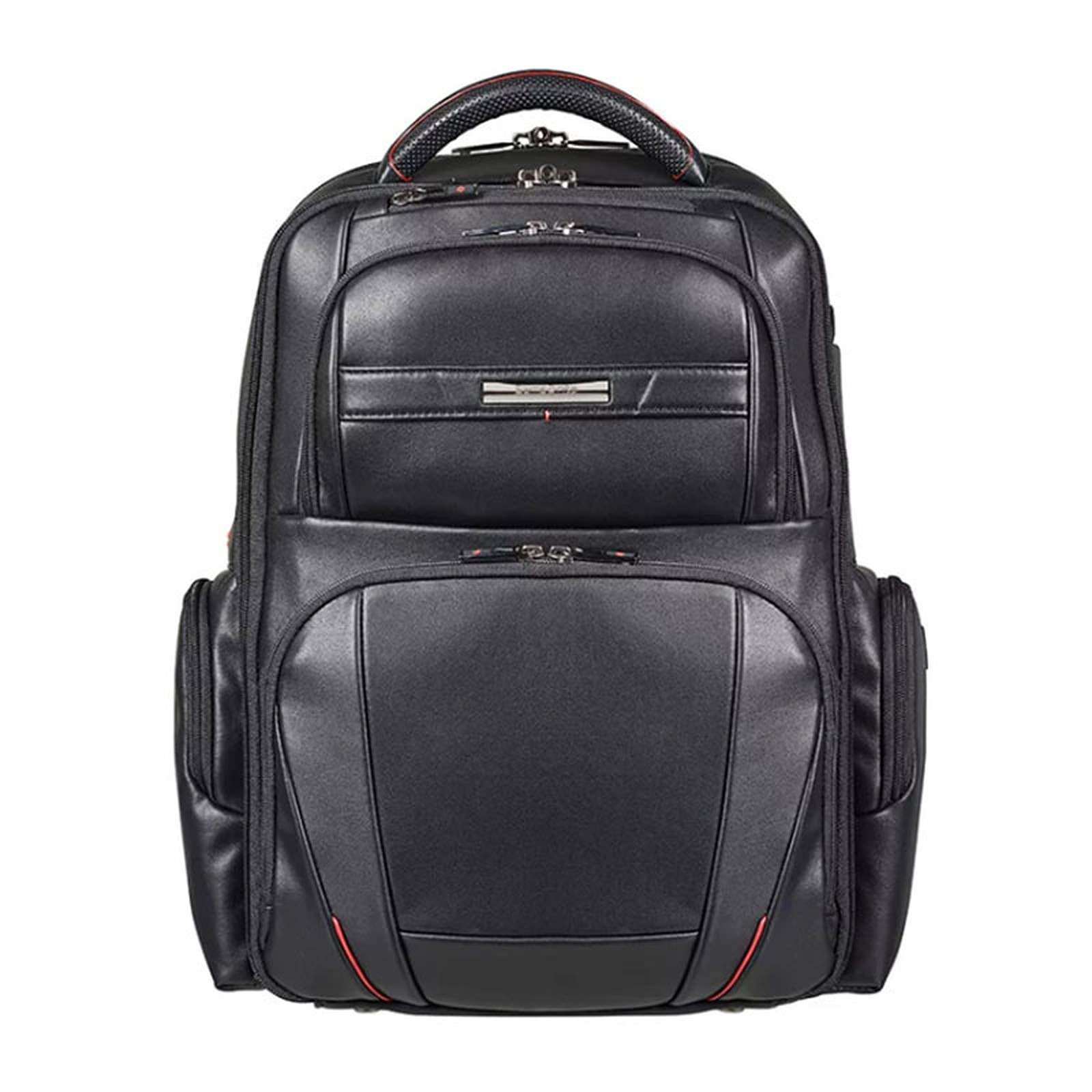 "Samsonite PRO-DLX LTH Backpack 15.6"" Noir"