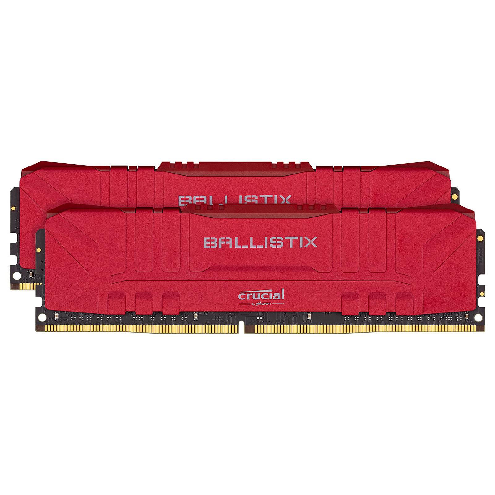 Ballistix Red 16 Go (2 x 8 Go) DDR4 2666 MHz CL16