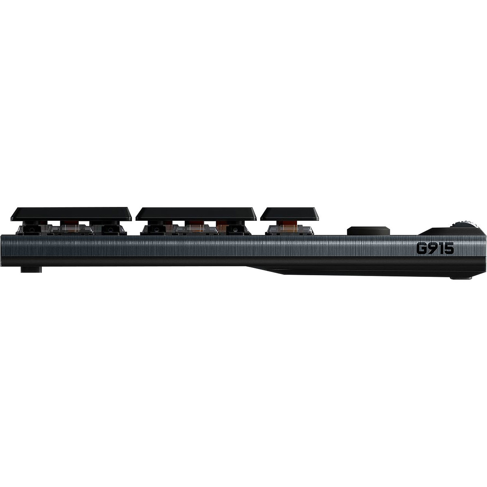 Logitech G915 Lightspeed Carbone (Clicky Version)