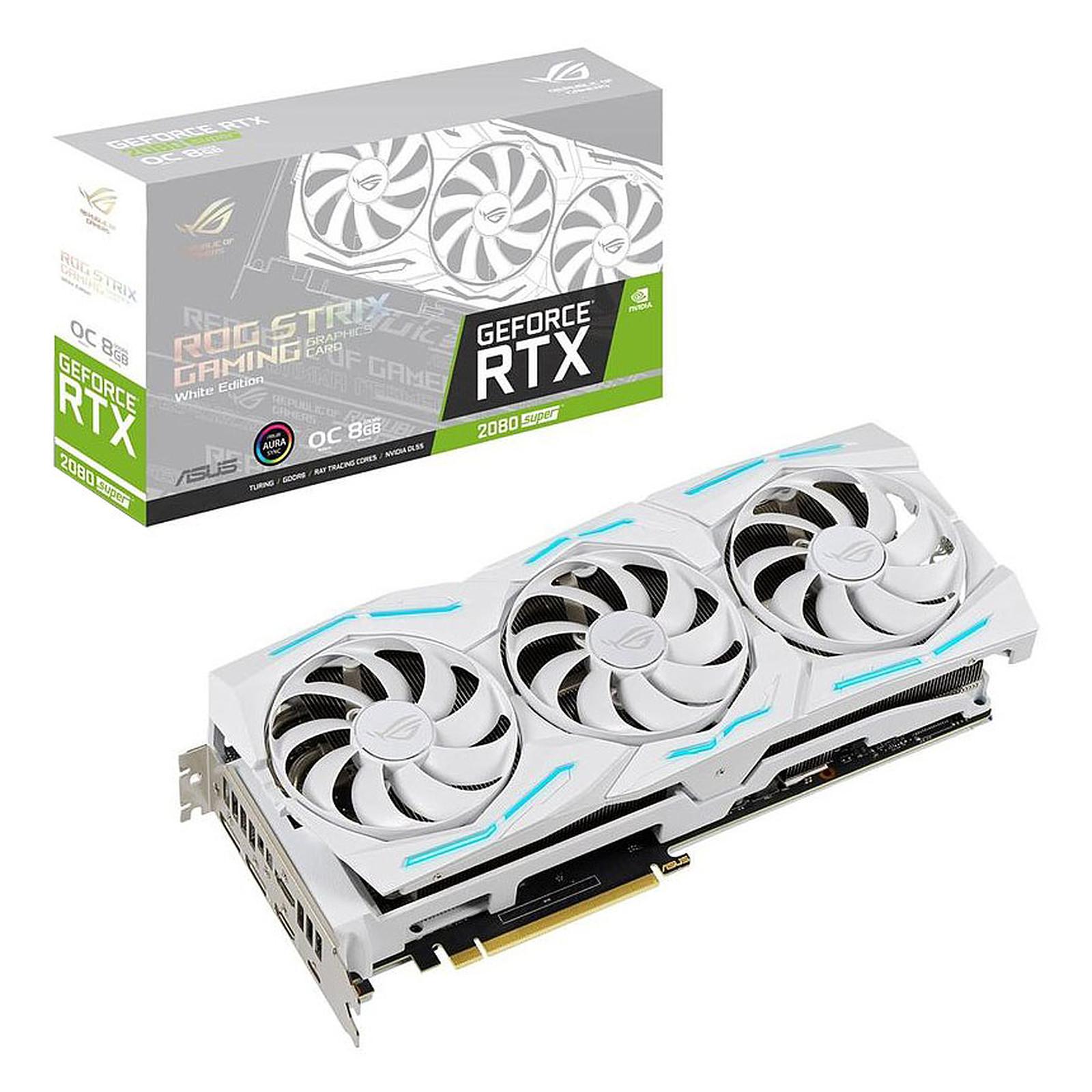 ASUS GeForce RTX 2080 SUPER ROG-STRIX-RTX2080S-O8G-WHITE