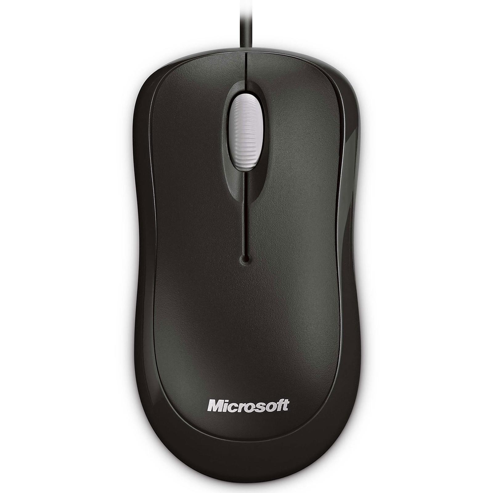 Microsoft Basic Optical Mouse Negro
