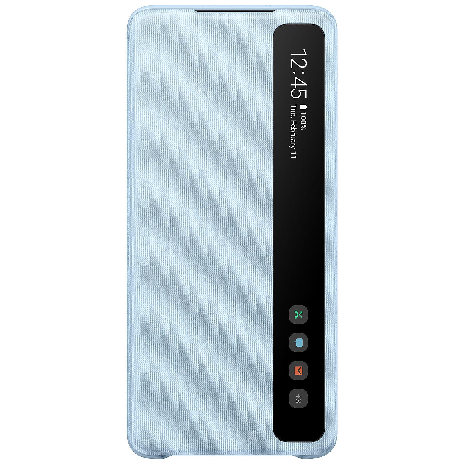 Samsung Clear View Cover Bleu Galaxy S20+