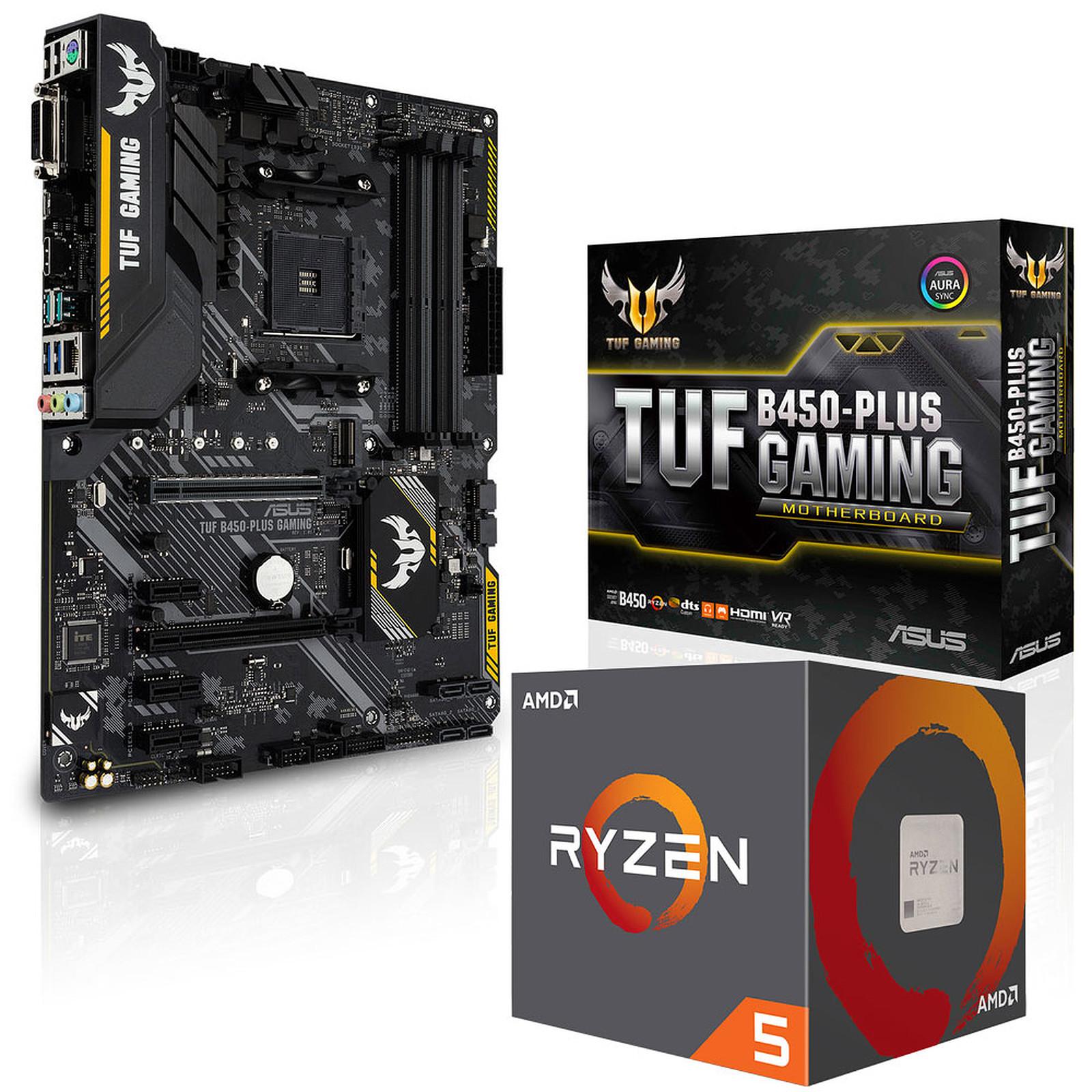 Kit Upgrade PC AMD Ryzen 5 2600 ASUS TUF B450-PLUS GAMING