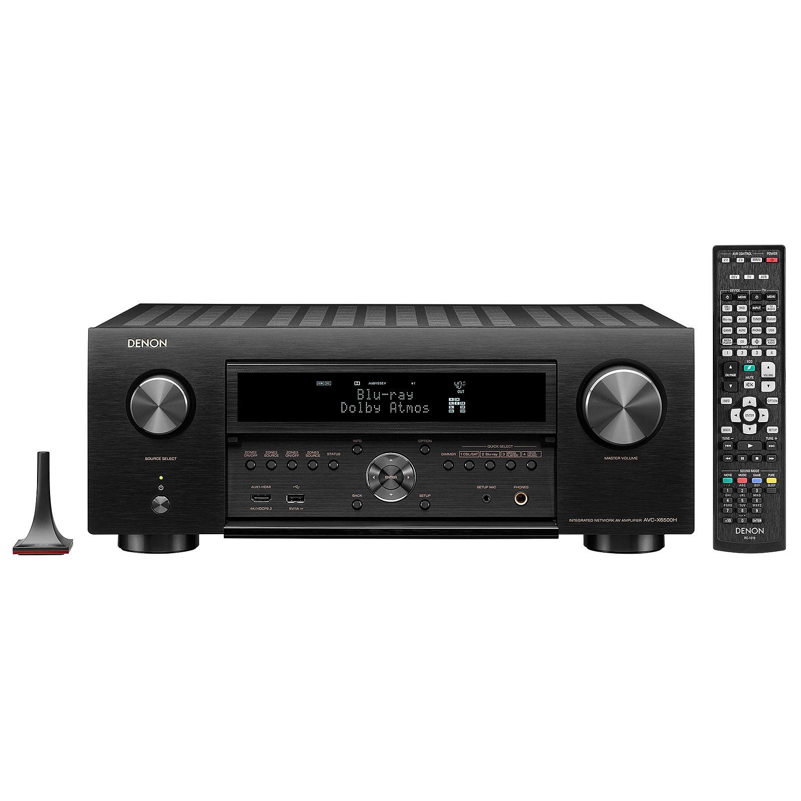 Denon AVC-X6500H Noir