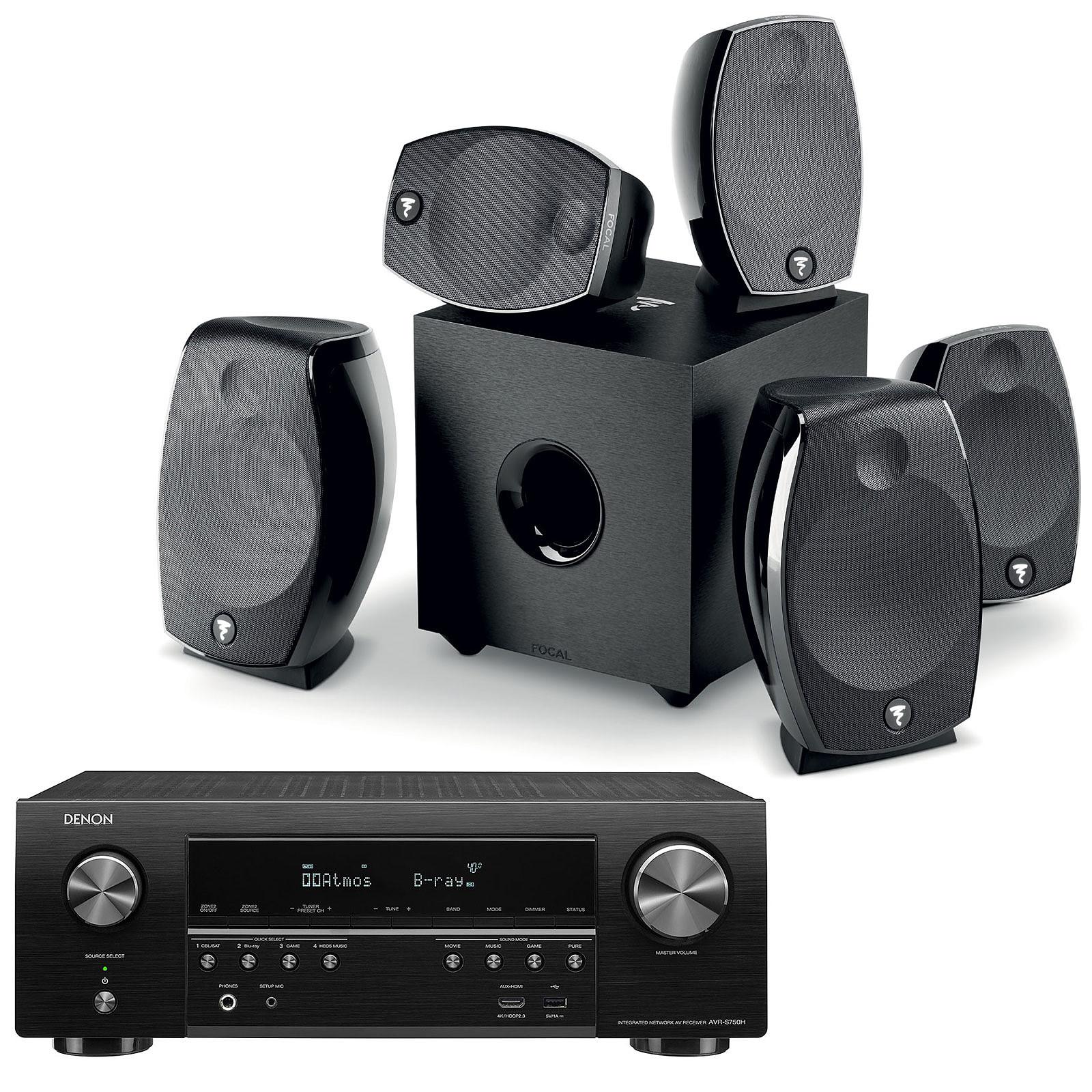 Denon AVR-S750H + Focal Sib Evo 5.1.2 Dolby Atmos