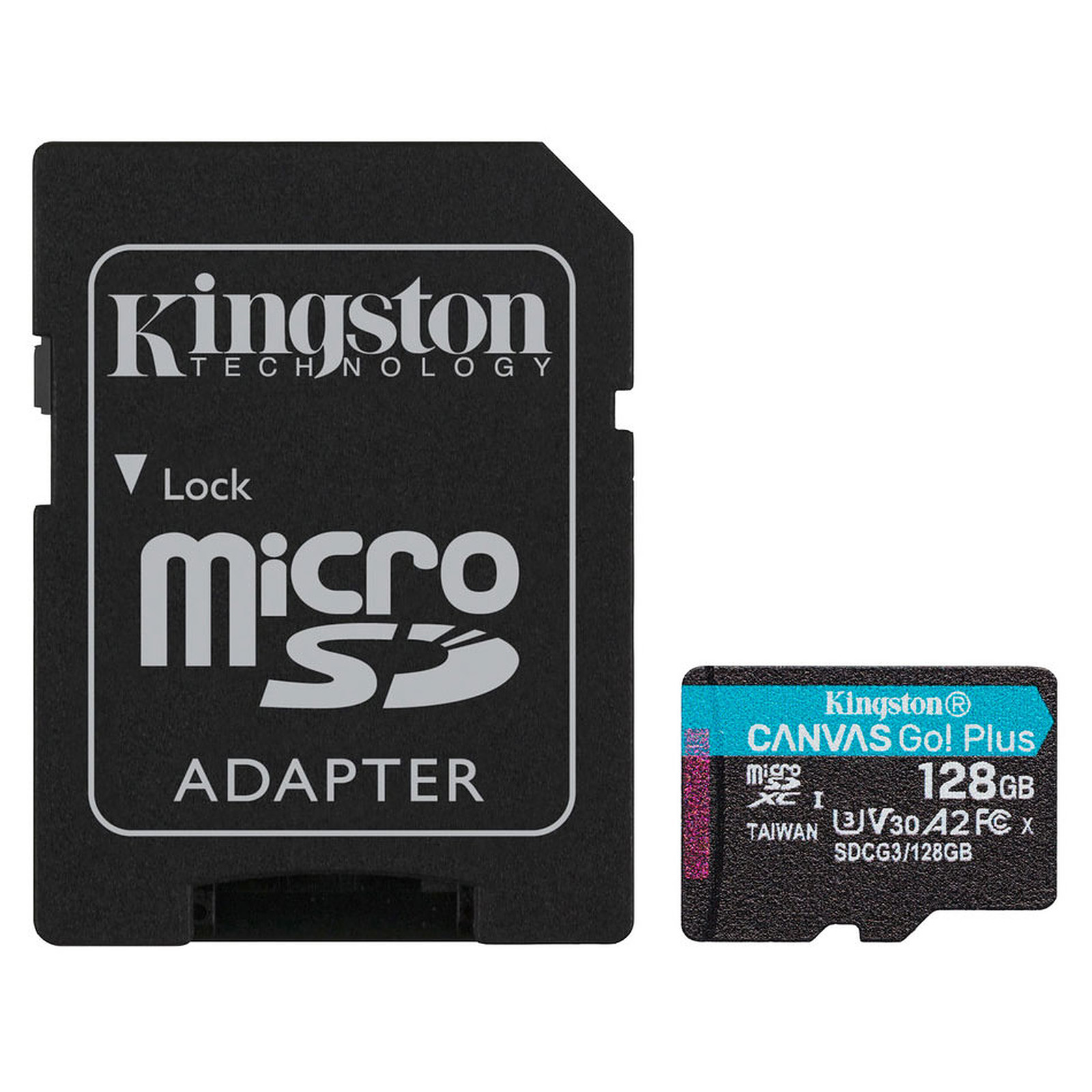Kingston Canvas Go! Plus SDCG3/128GB